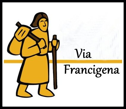 Walking the Via Francigena  - A 1,200+ mile walk from Rome, Italy to Canterbury, England through Italy, Switzerland, france, across the english channel to Canterbury, england.