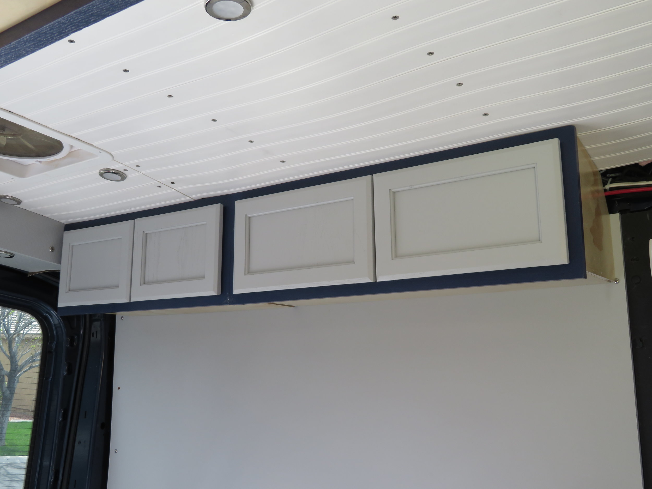At last - some cabinets