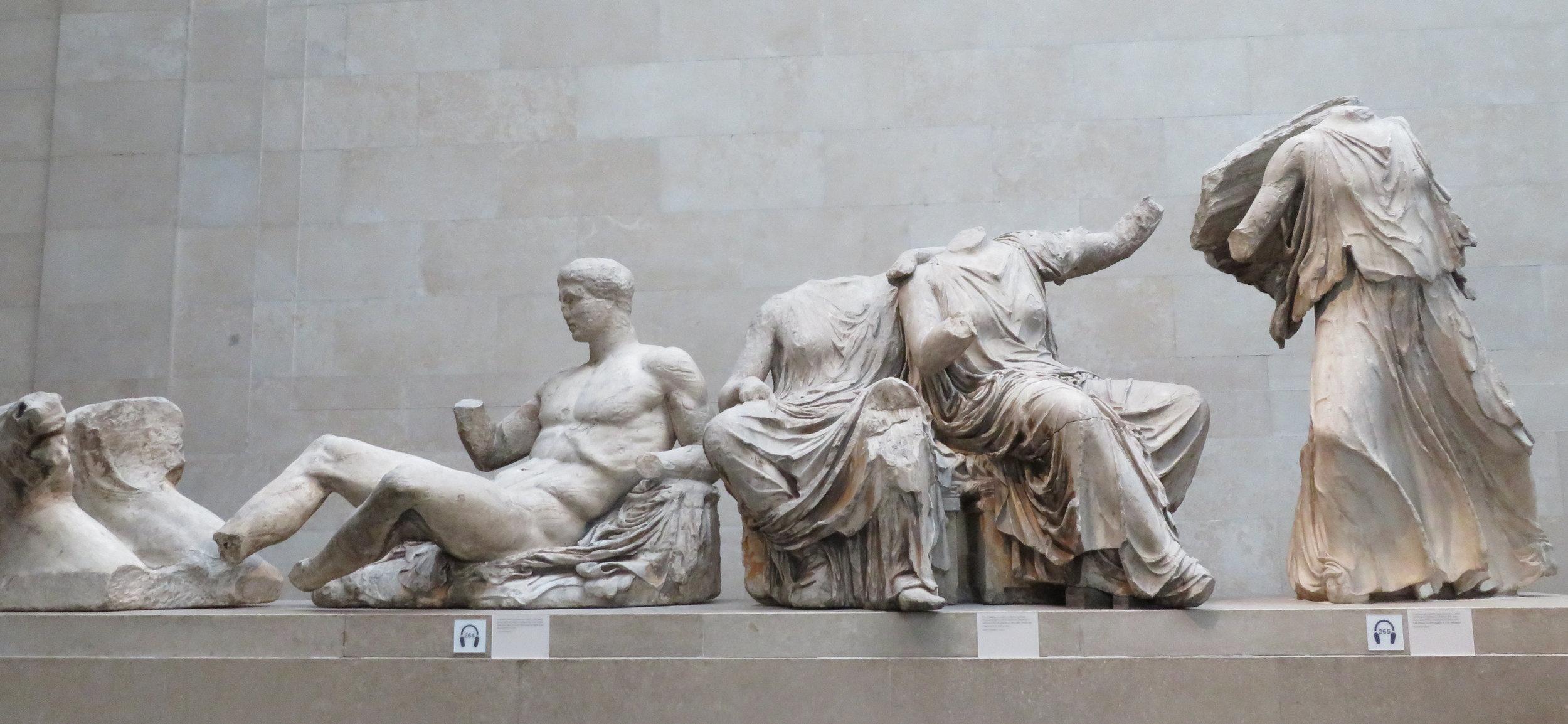 Parthenon Sculptures aka the Elgin Marbles