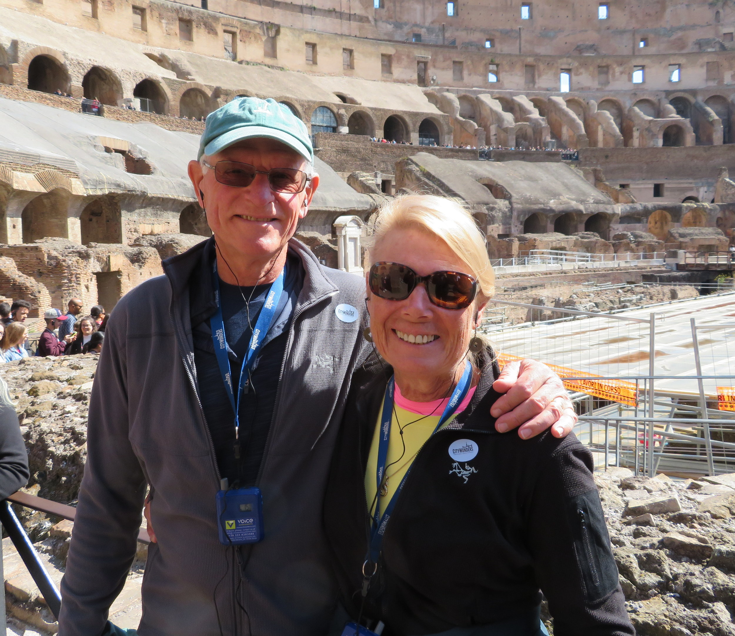 Yup, we were here, but we are NOT the aforementioned archaeological ruins.