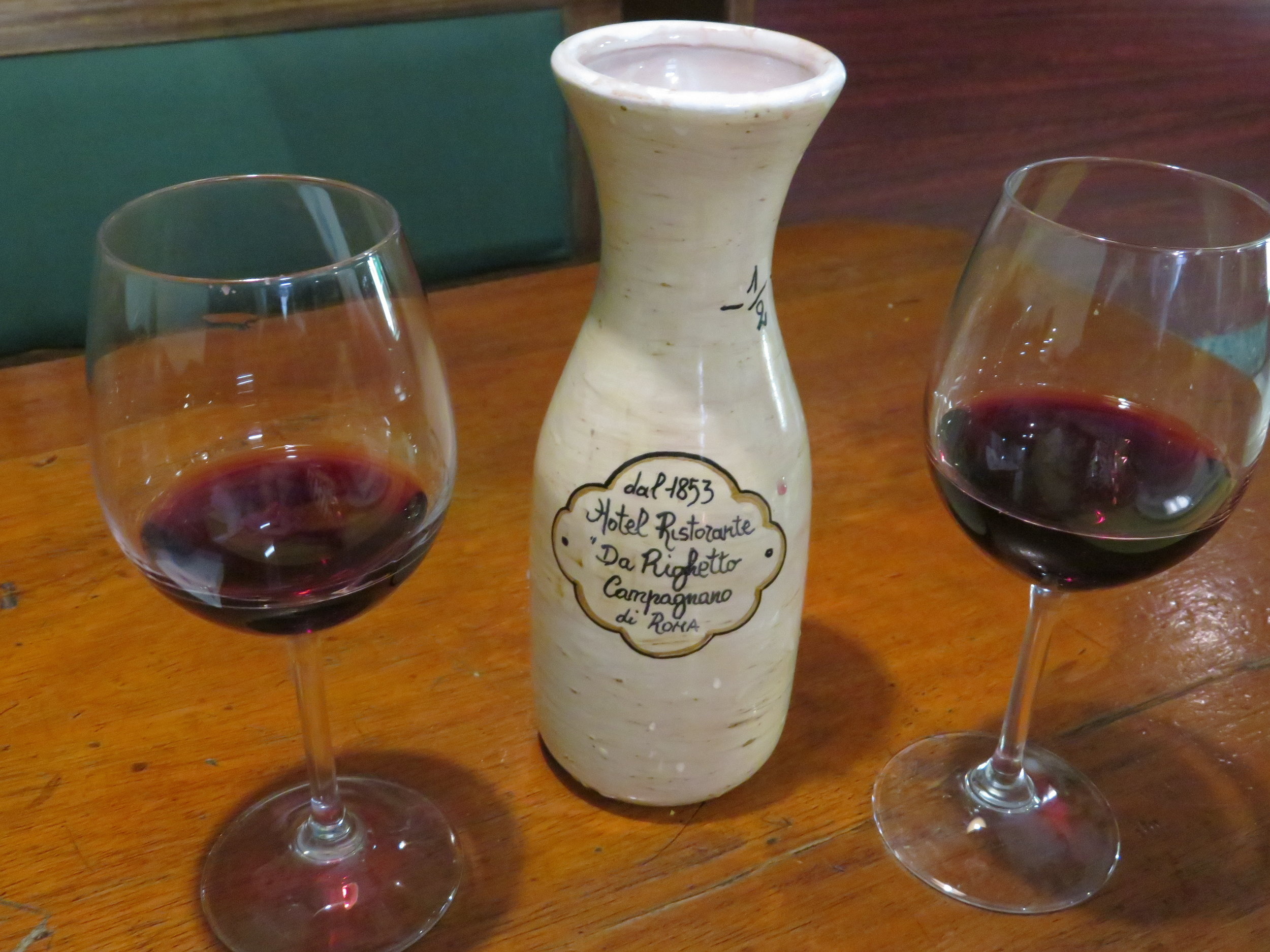 A half liter of fine house wine
