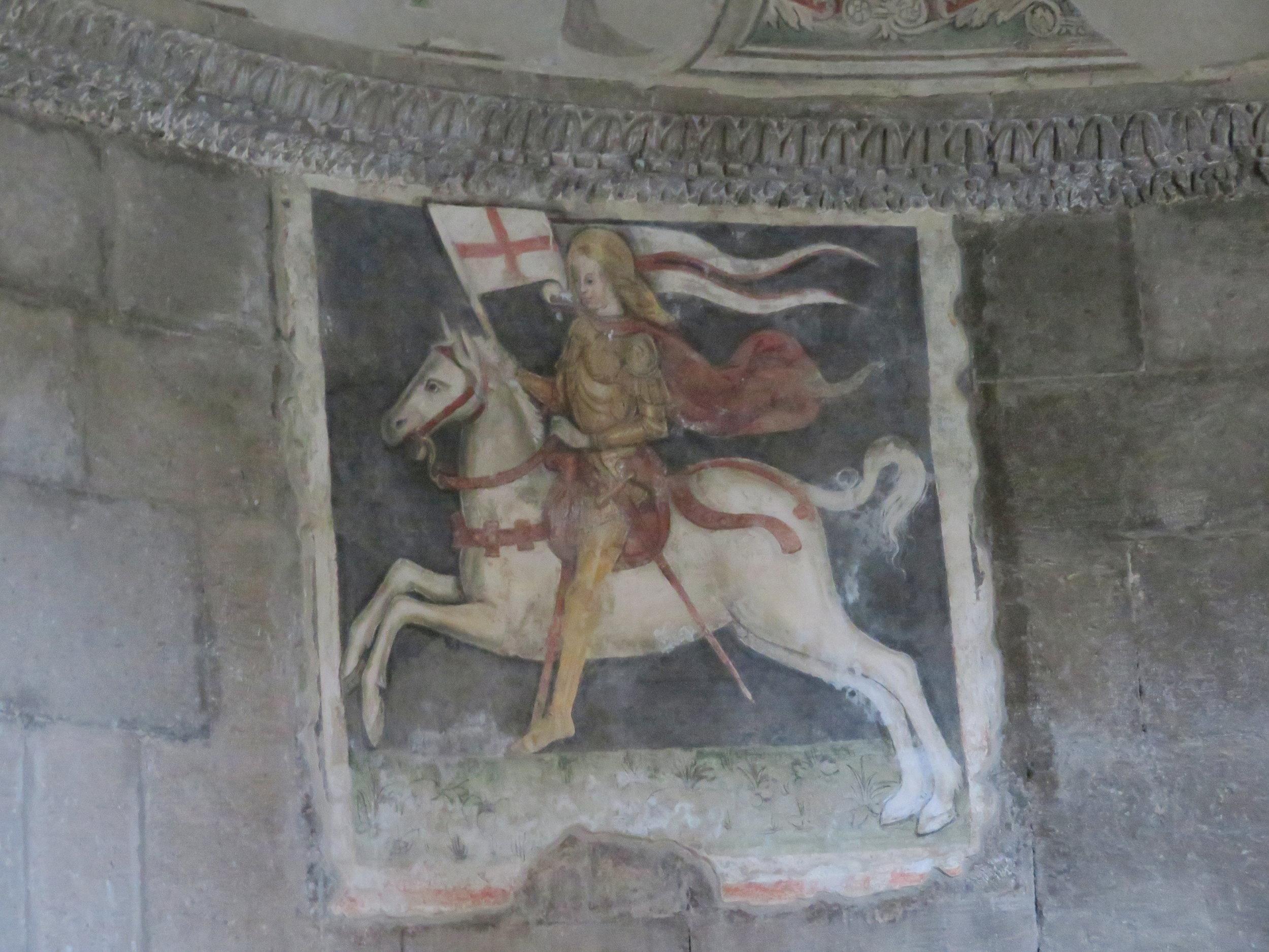 The church's patron saint, San Flaviano
