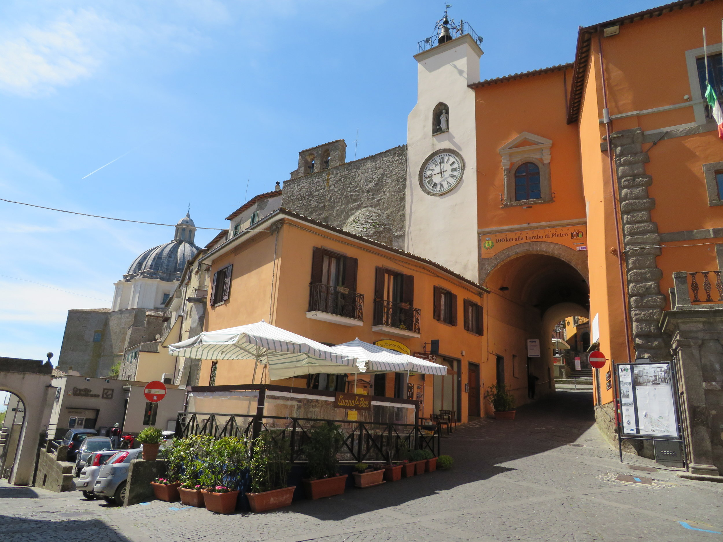 There always seems to be a beautiful piazza for coffee.