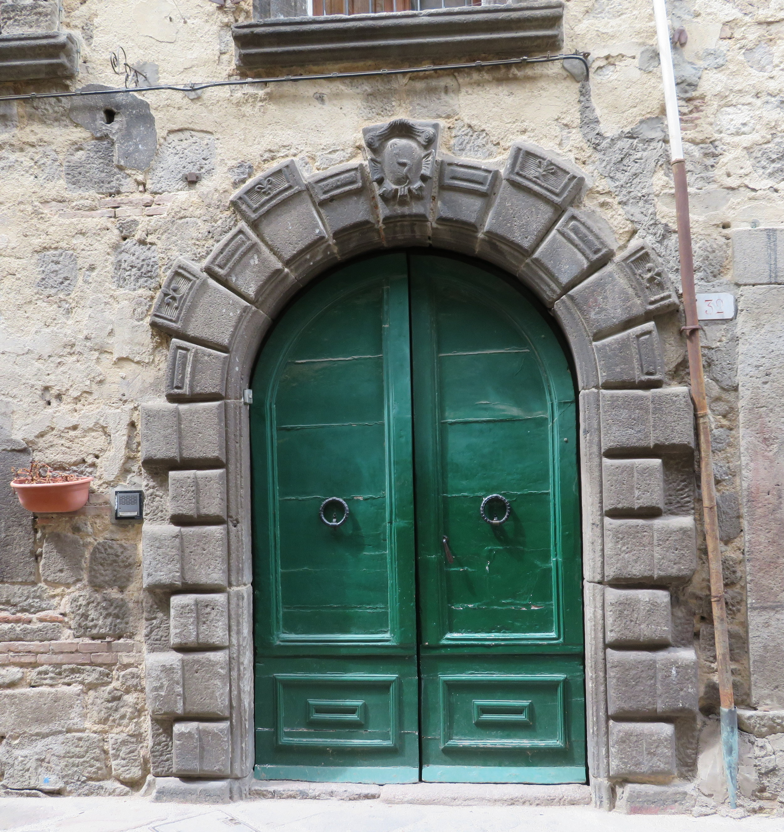 A fine arched doorway
