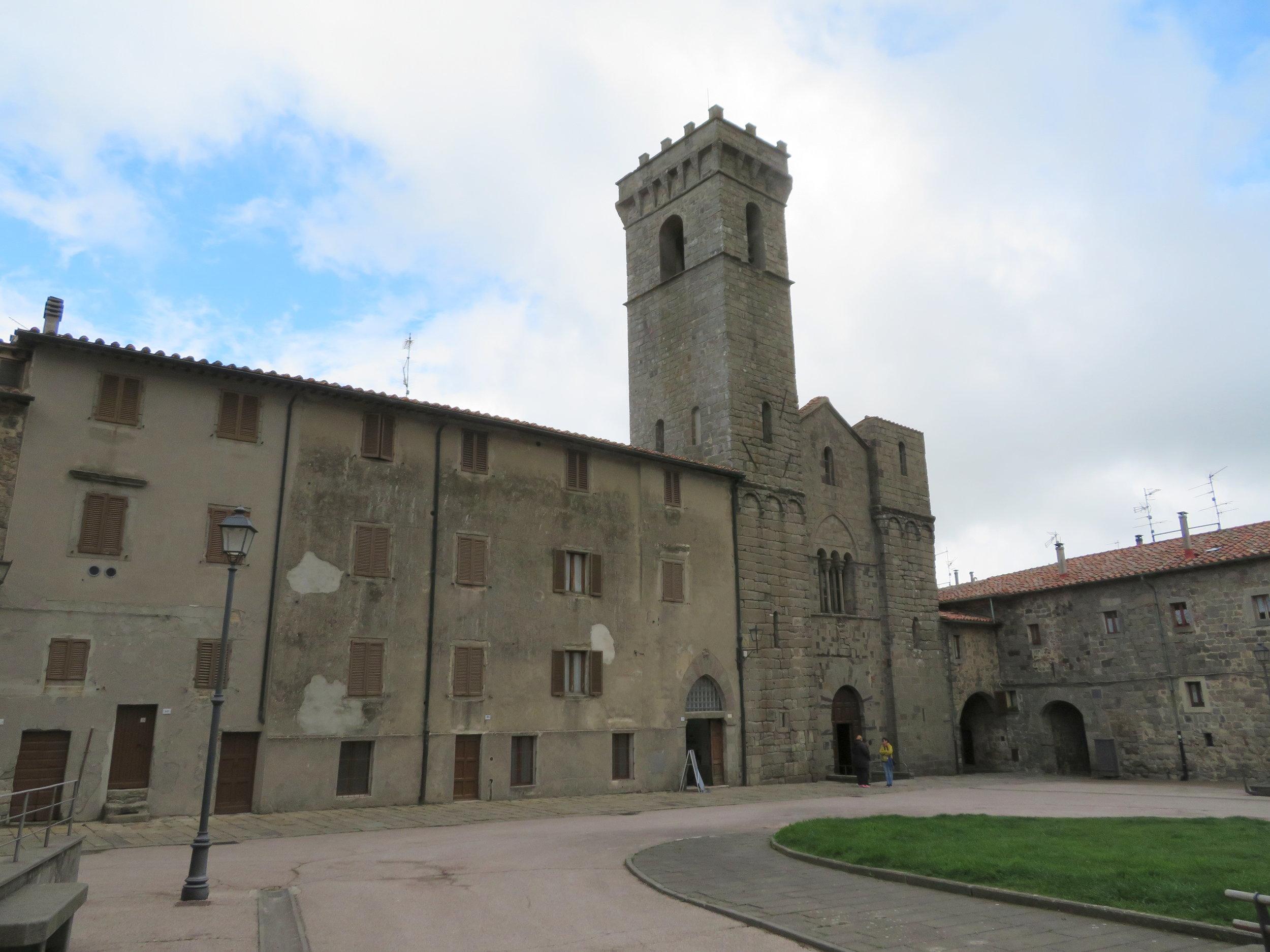 Abbazia San Salvatore - 743 AD