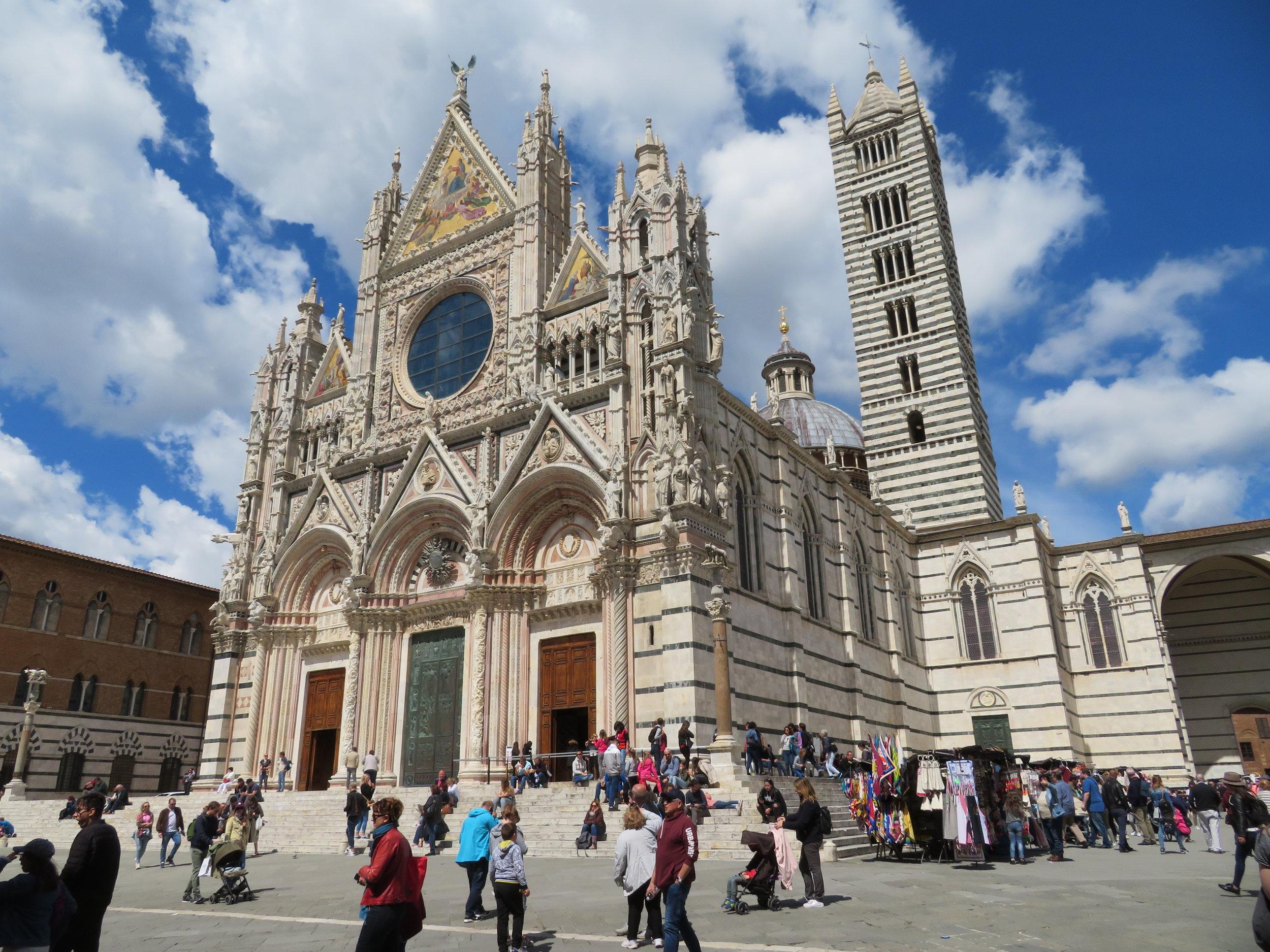 Siena's glorious Duomo … it's breathtaking!