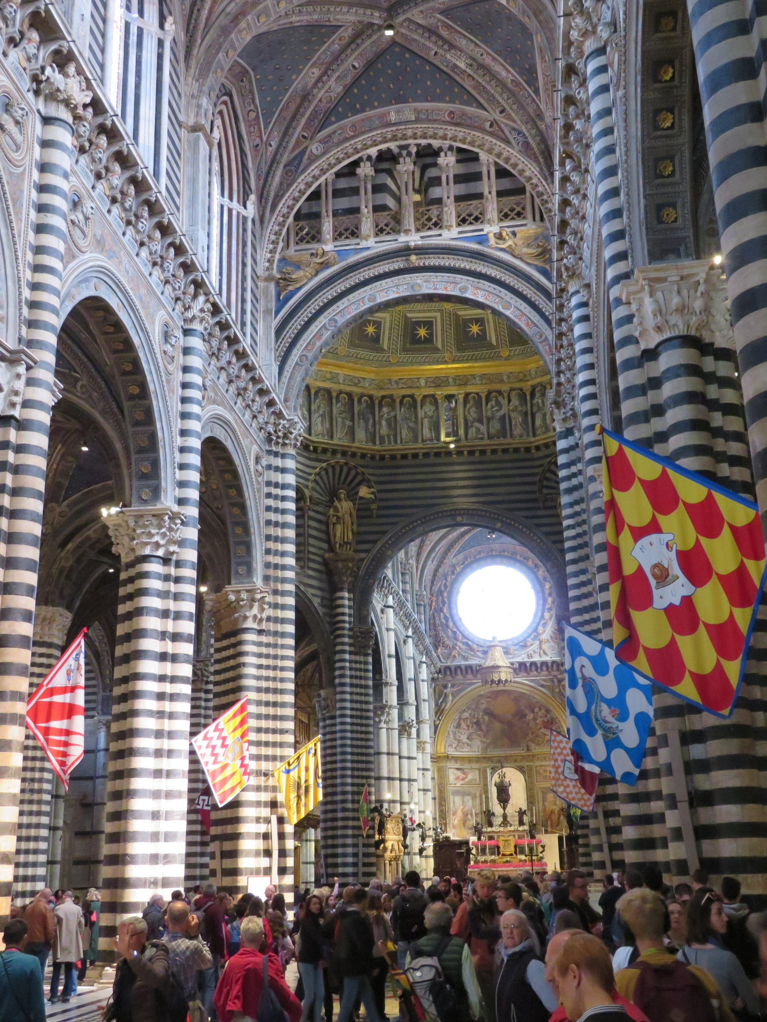 Despite the crowds, we found the Duomo to be mind-bogglingly beautiful. The detail is beyond belief.
