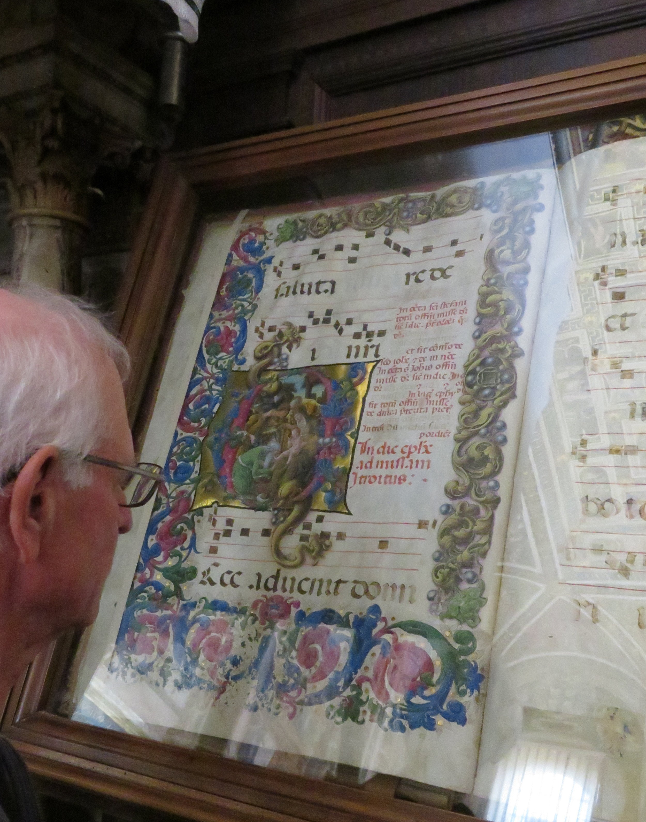 A collection of illuminated manuscripts were fantastic, but…