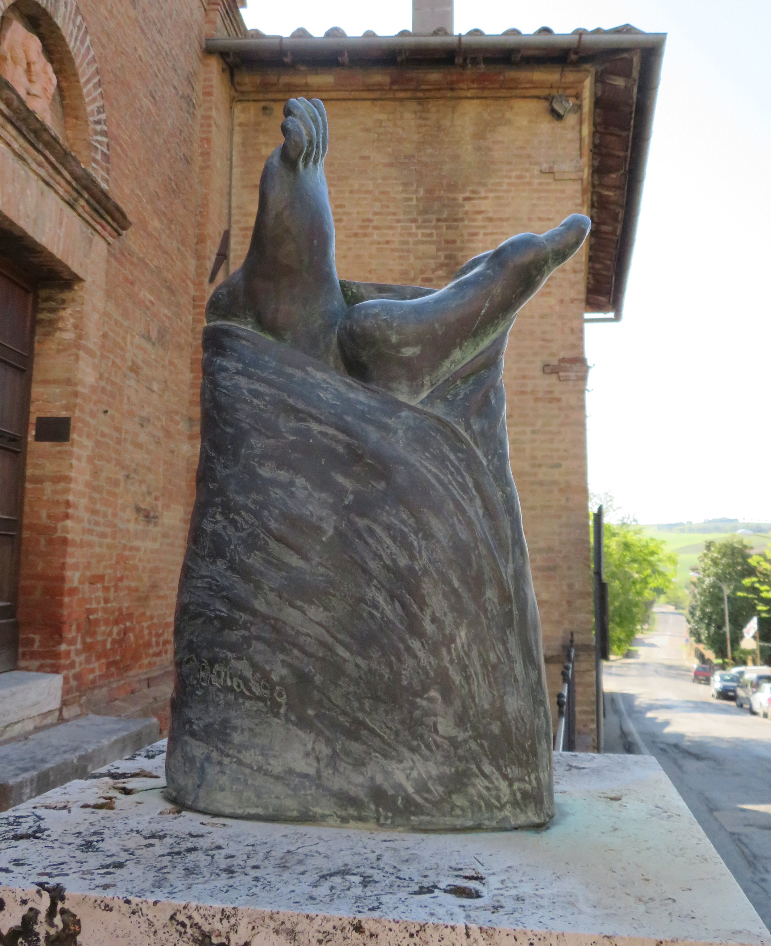 Monumento al pellgrino