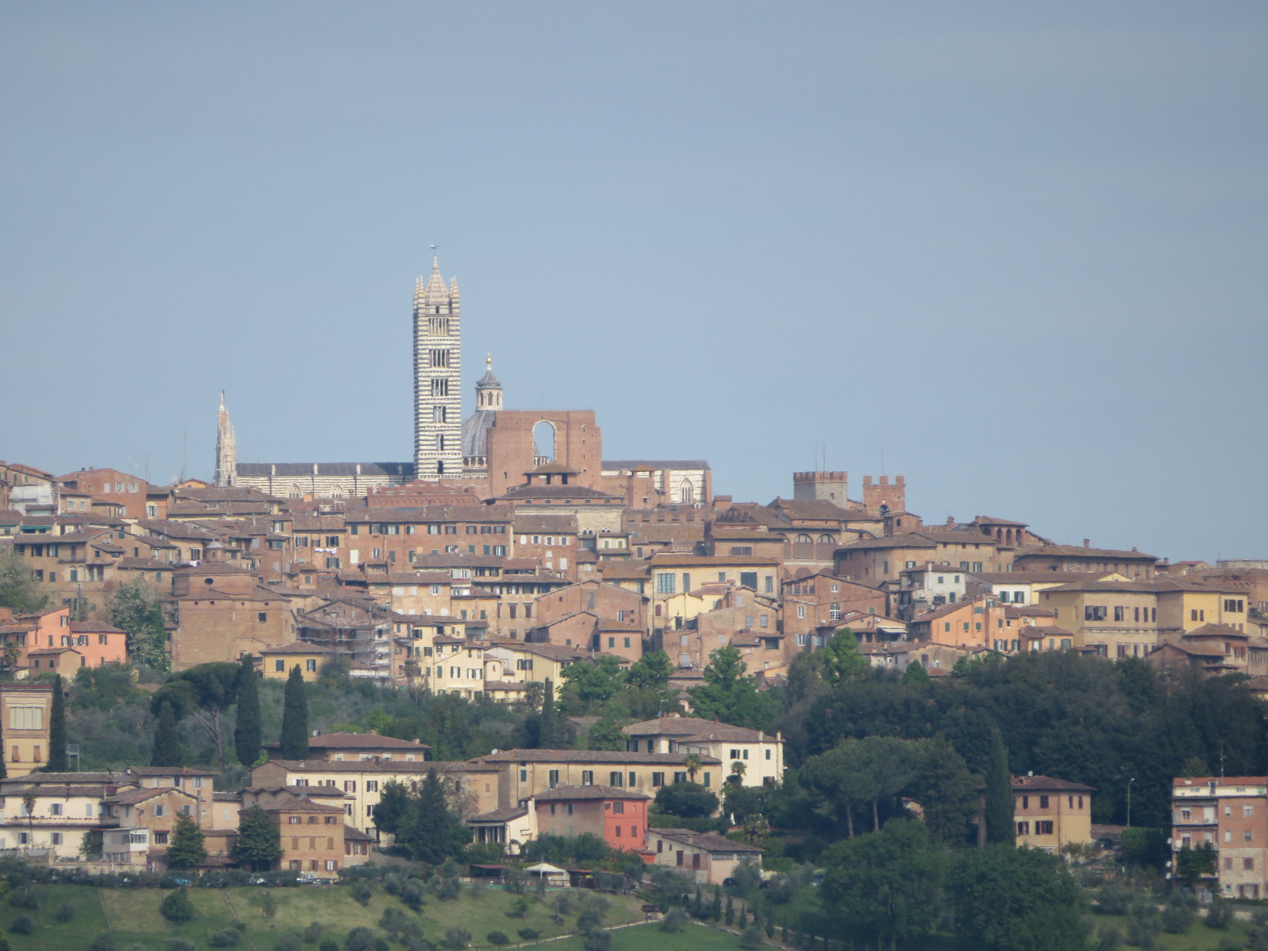 Views of the Siena skyline