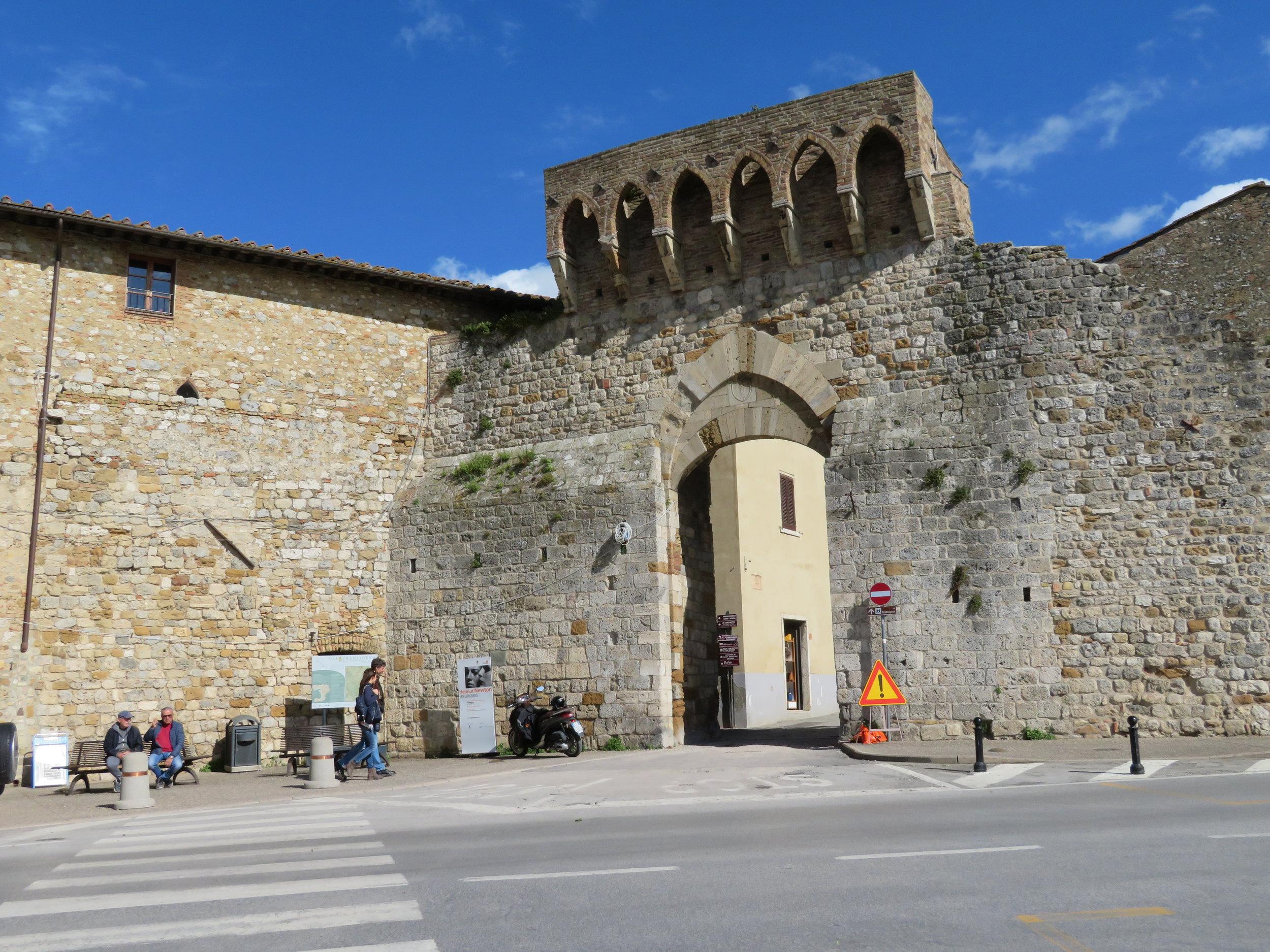 San Gimignano Entry Portal