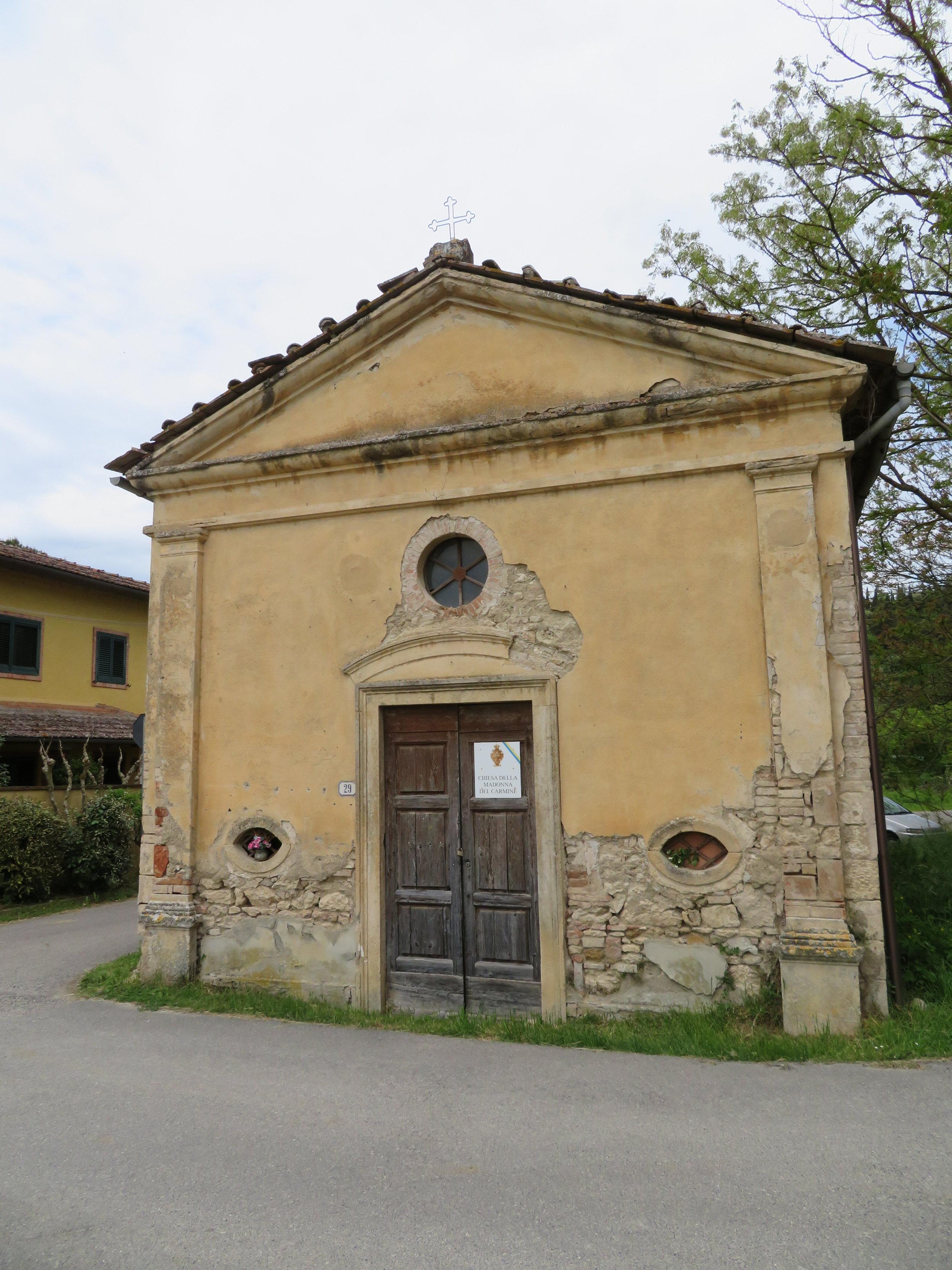 Chiesa della Madonna del Carmine could use a little TLC, it seems.