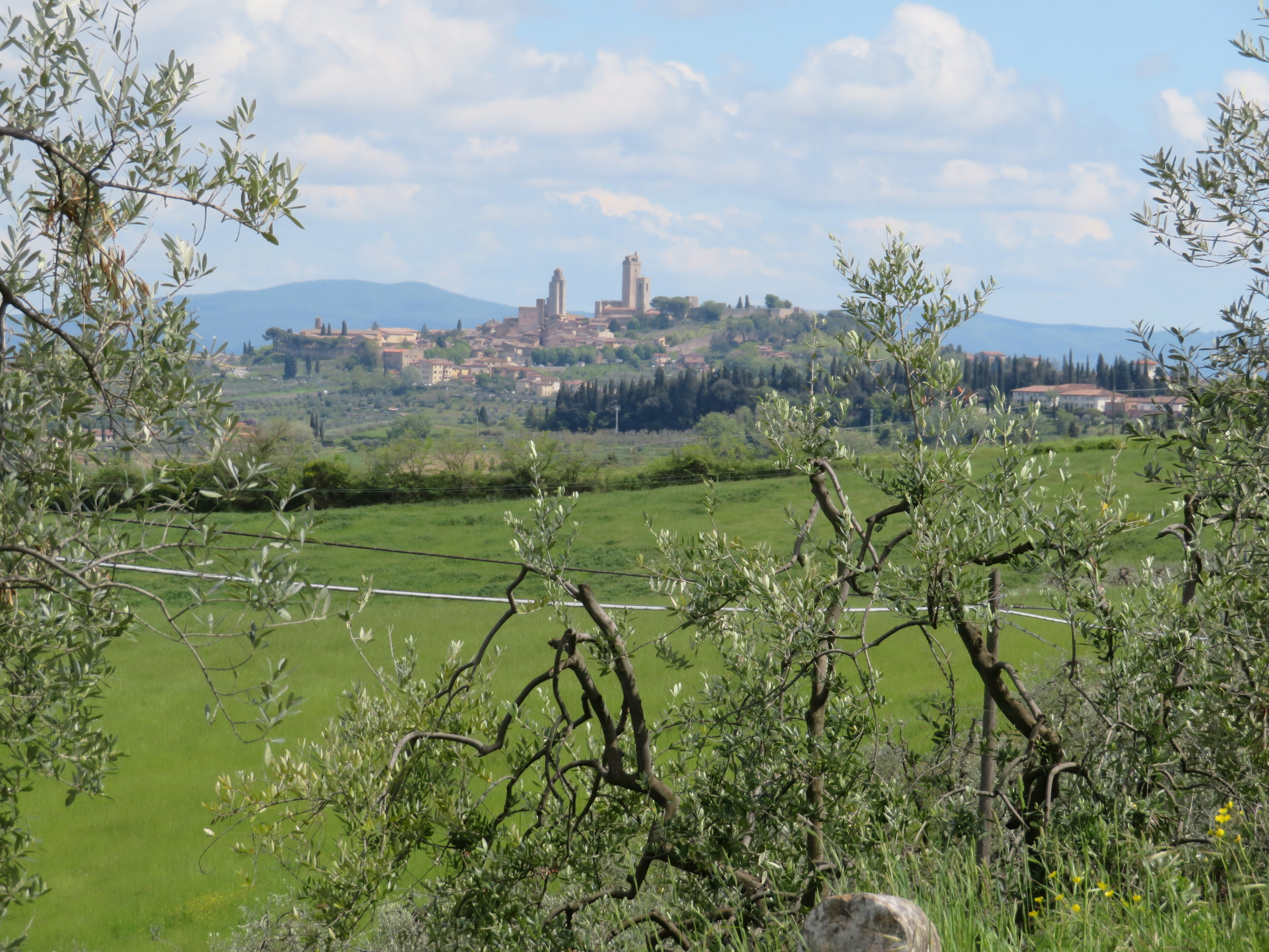 It's not OZ, it's San Gimignano.