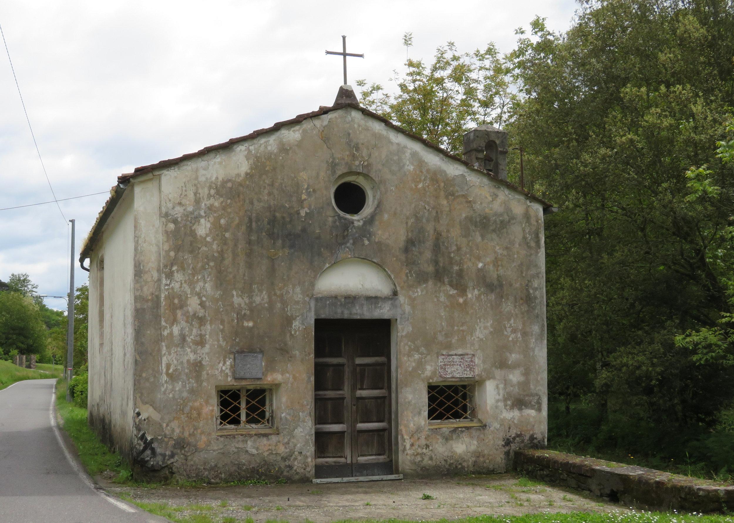Centuries old Spedale di San Michele della Contessora was a hospice for pilgrims since 1175 AD.