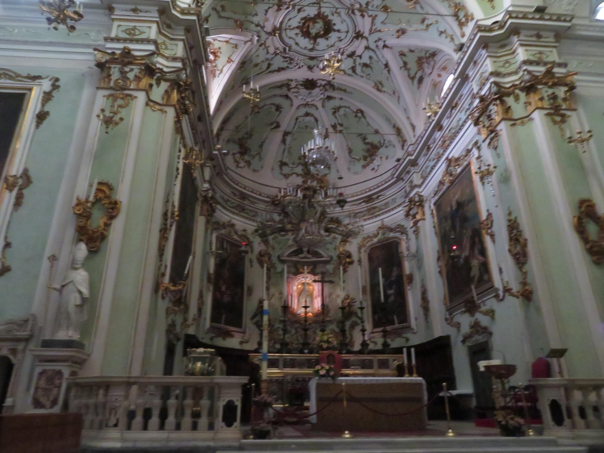 Inside Santa Maria Assunta