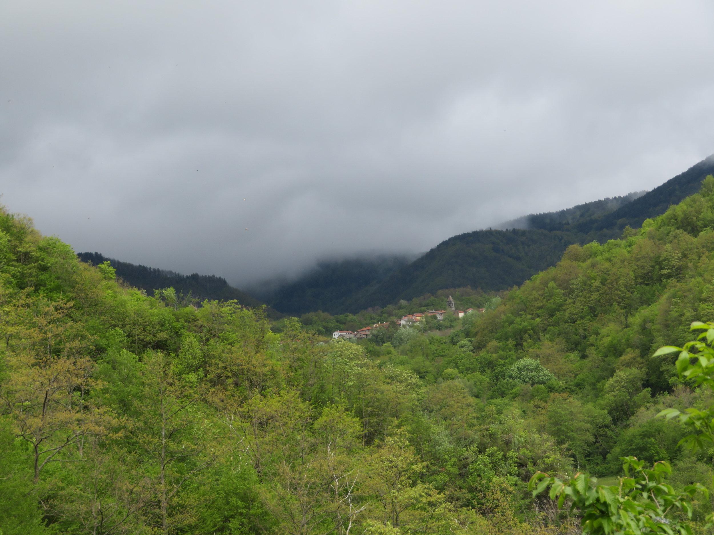 Distant Gravagna San Rocco
