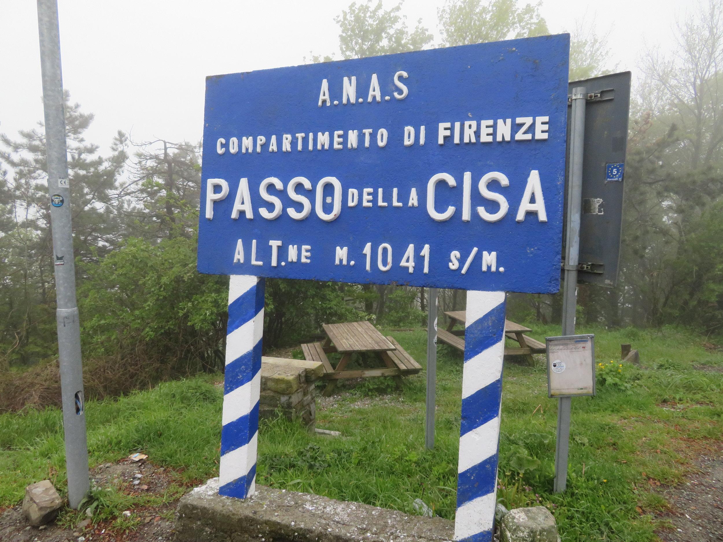 Passo della Cisa at last!