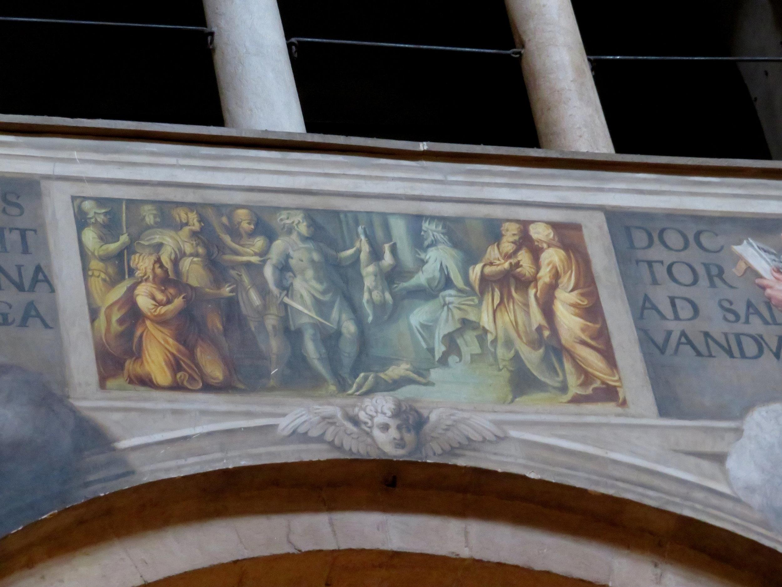 Biblical frescoes- Solomon