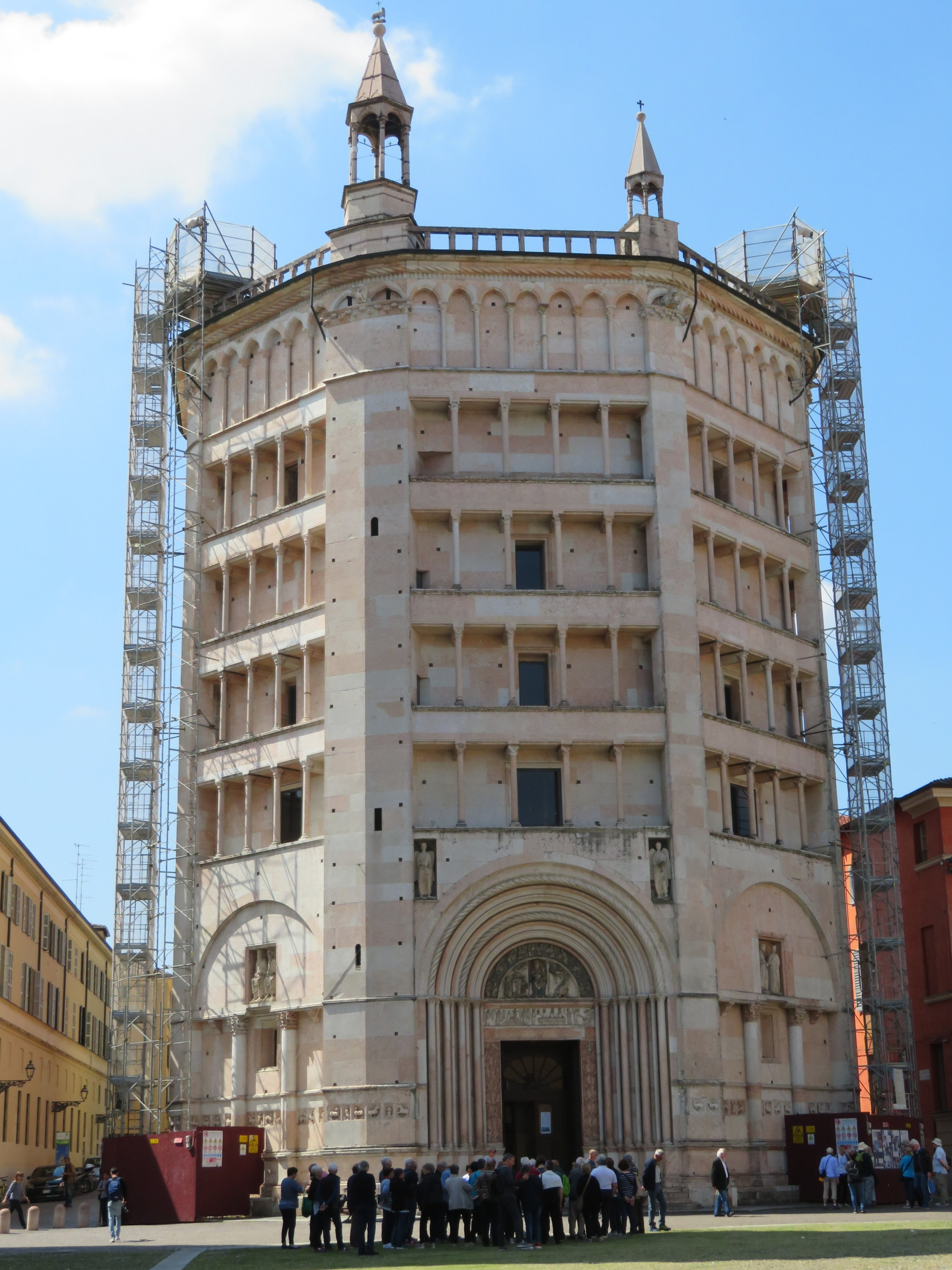 The Baptistery next door to the Duomo was undergoing repairs and we opted to give it a pass.