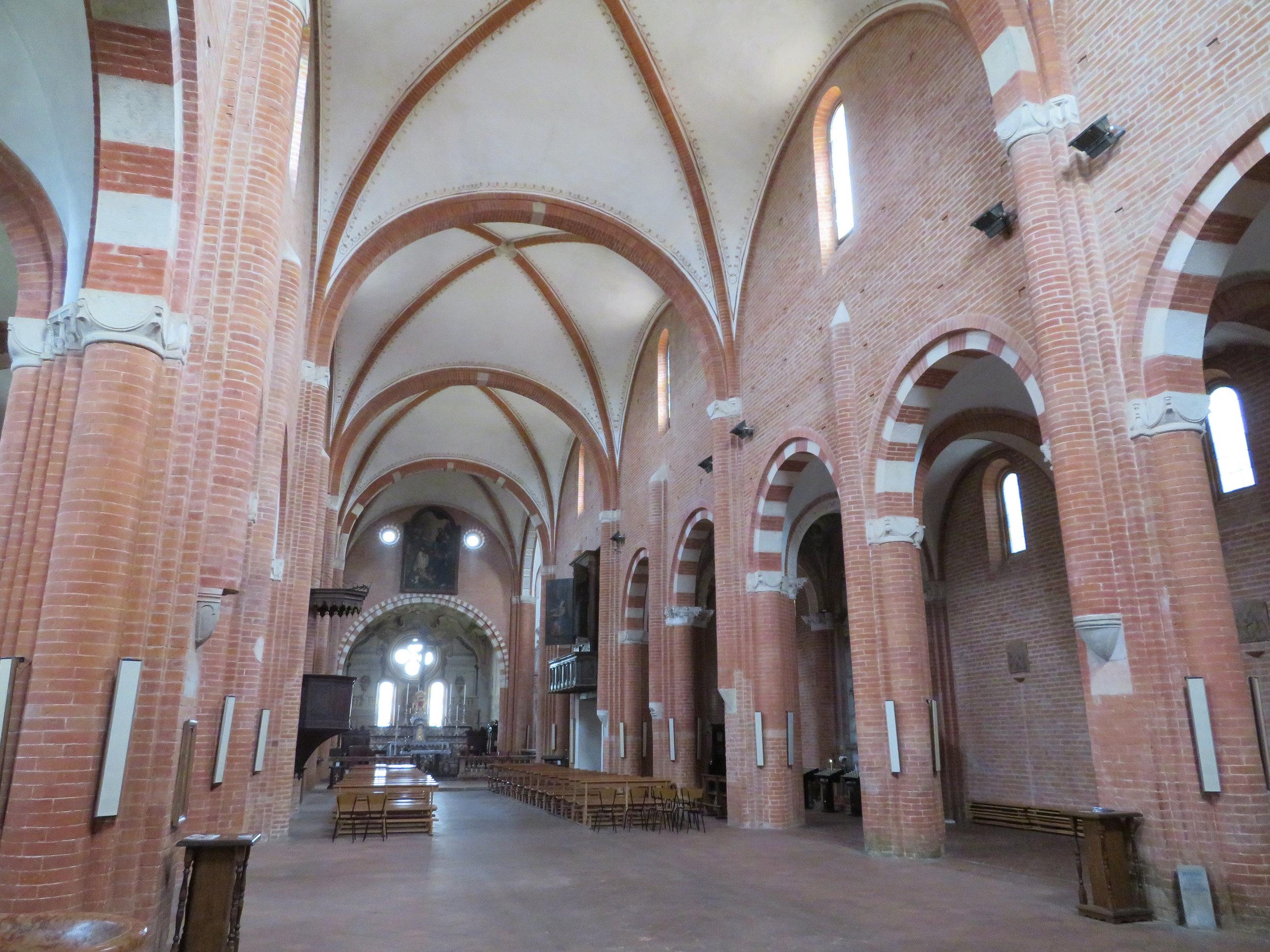 A peek inside the Abbey