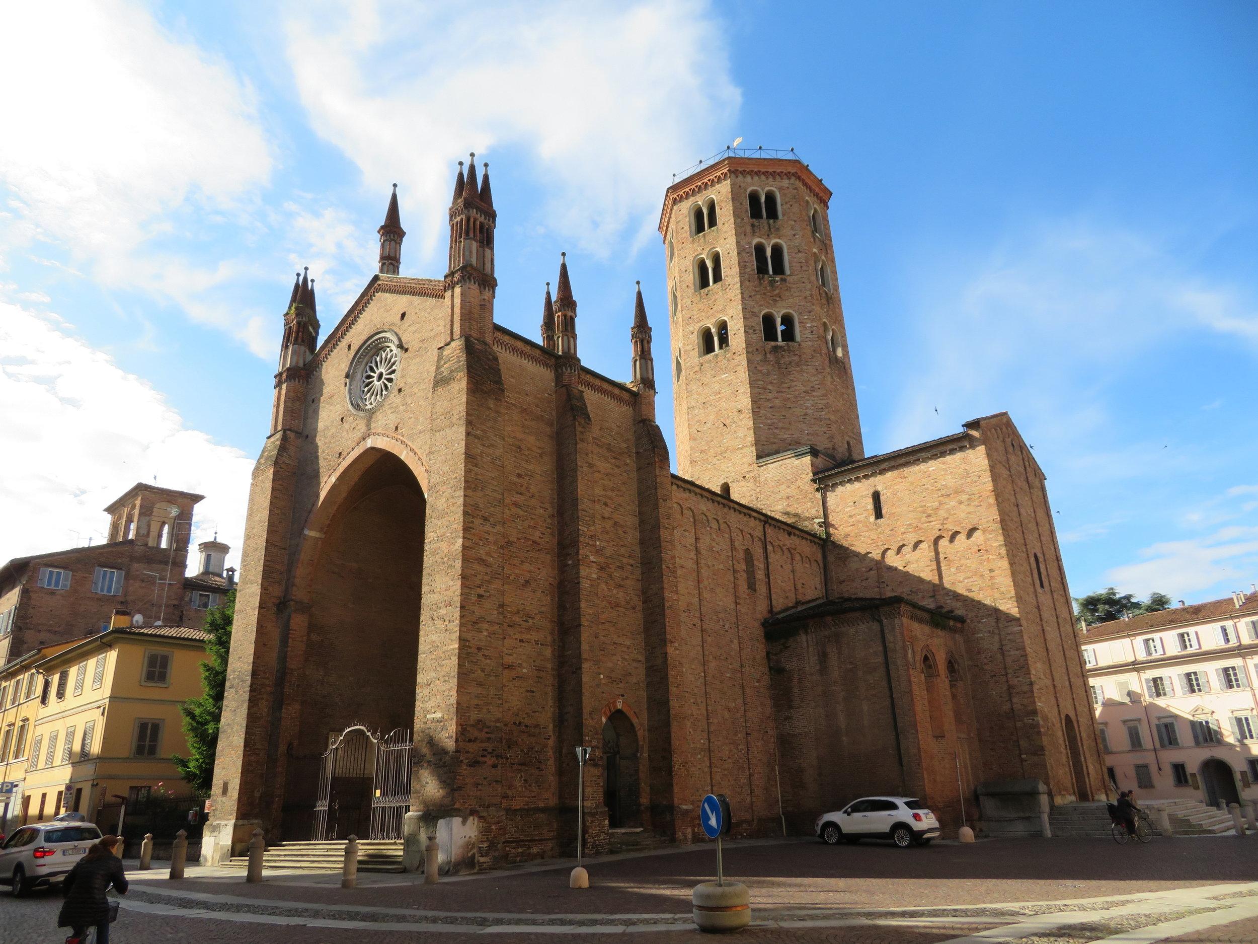 We also visited the Basilica of Sant'Antonio built c.1350.