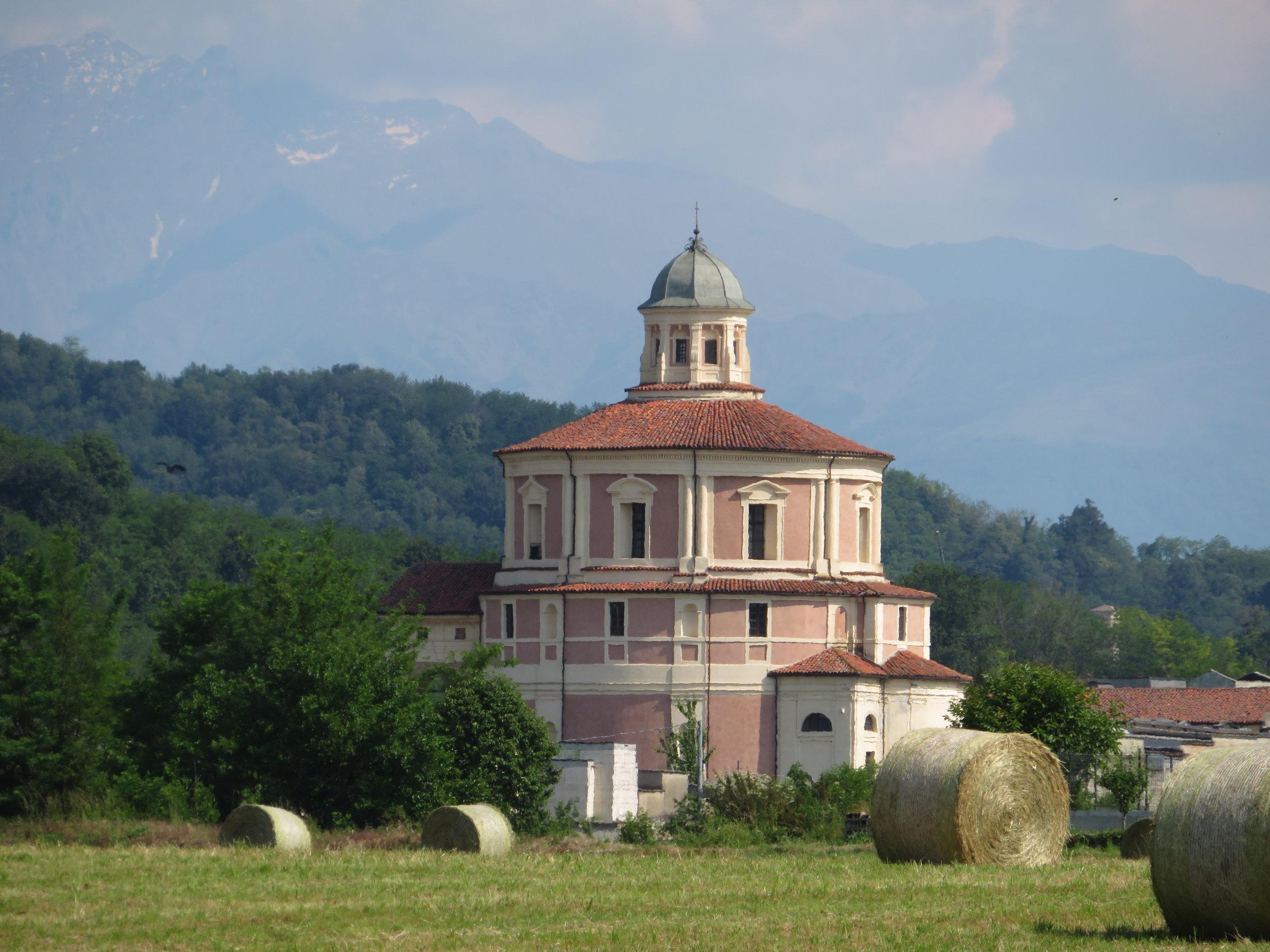 San Rocco, an unusual round church