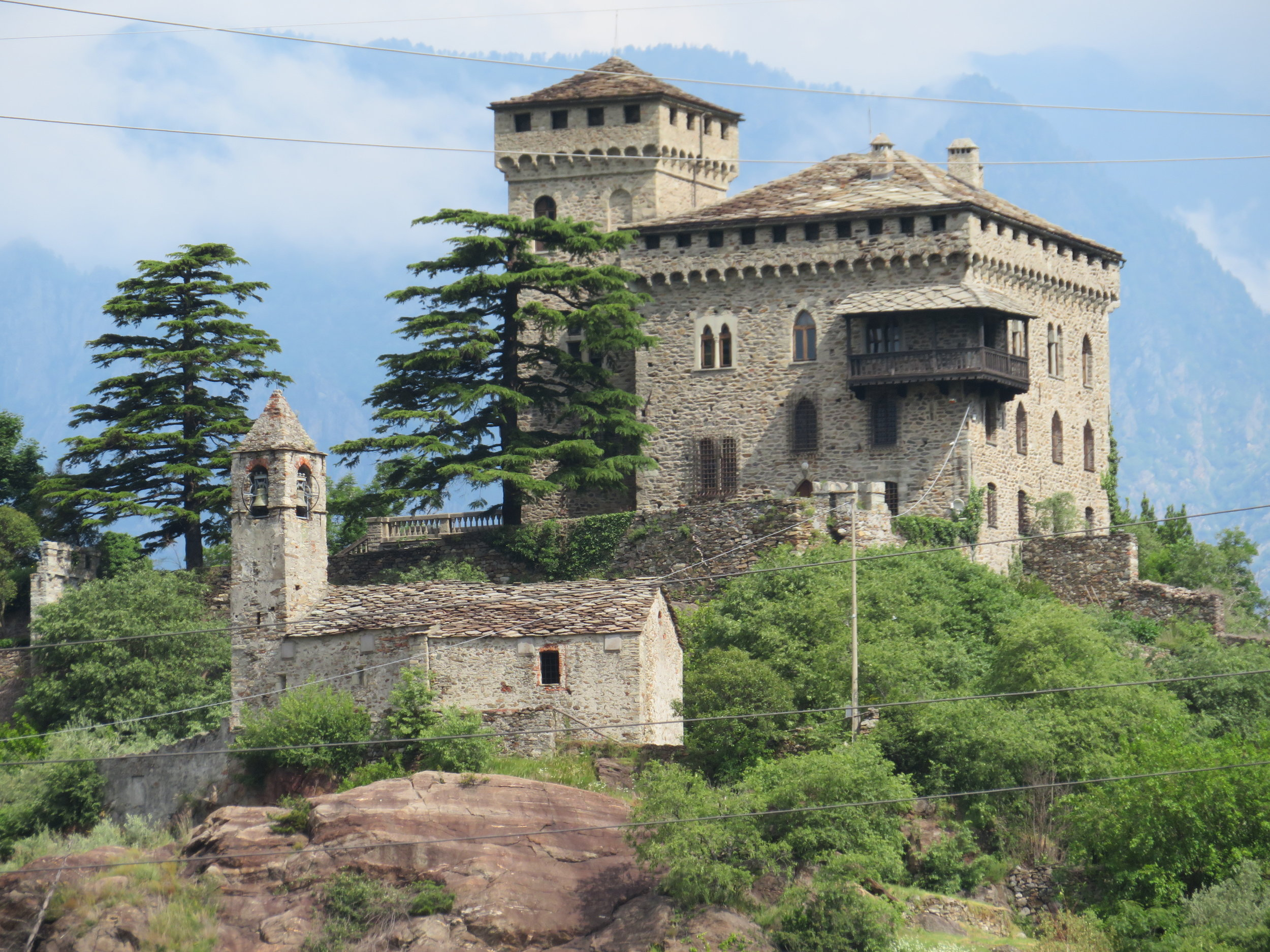 Castle-Andrate Nordic Walking Path