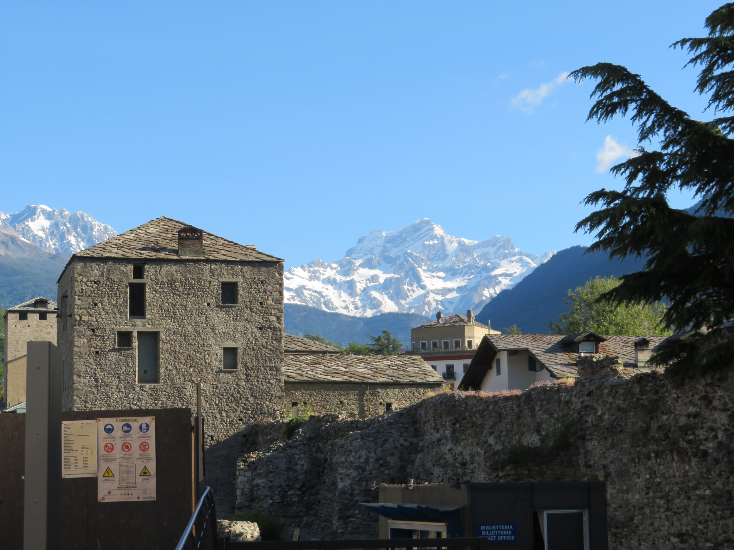 Aosta - gateway to the Italian Alps
