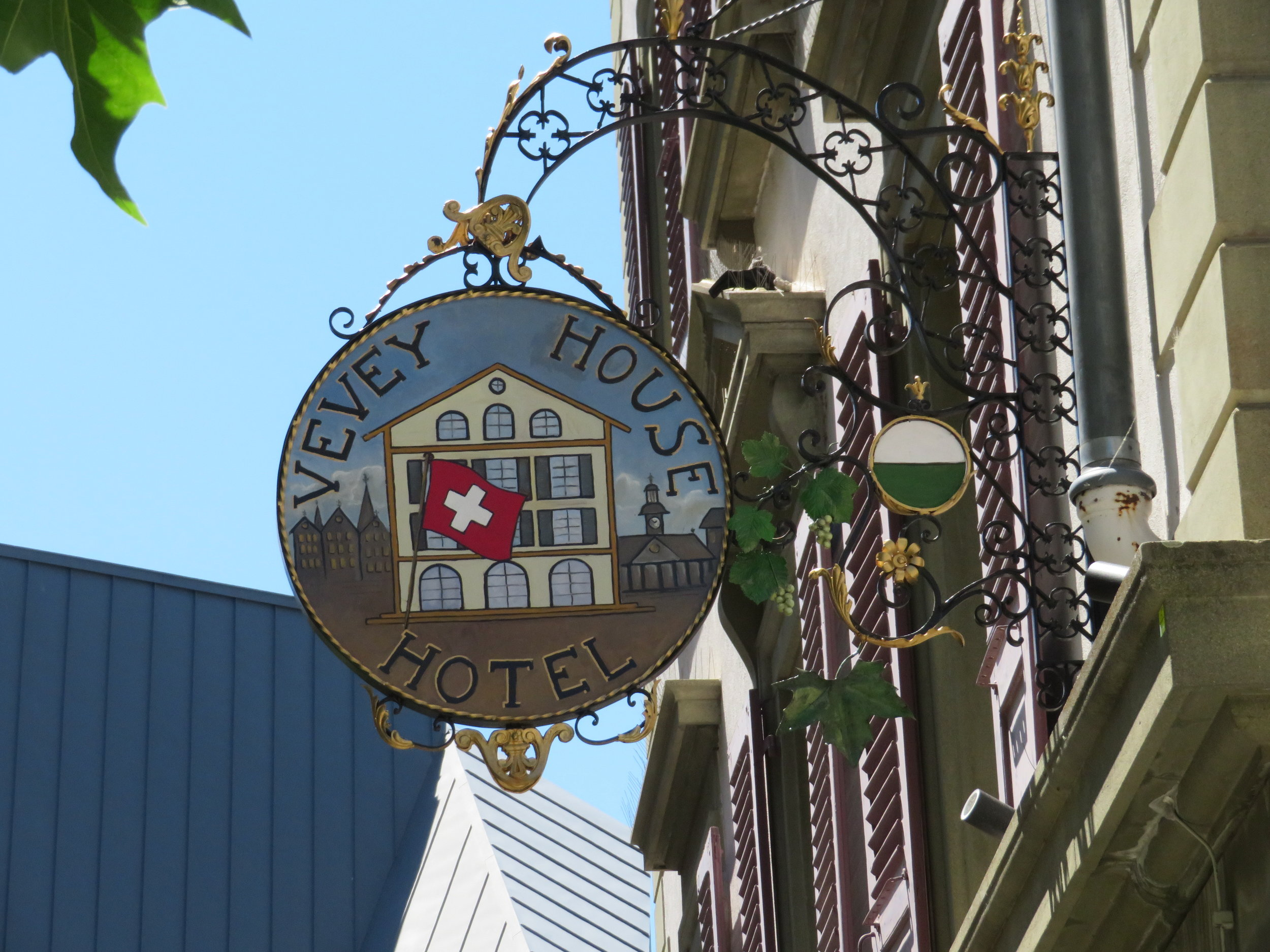 Vevey House sign