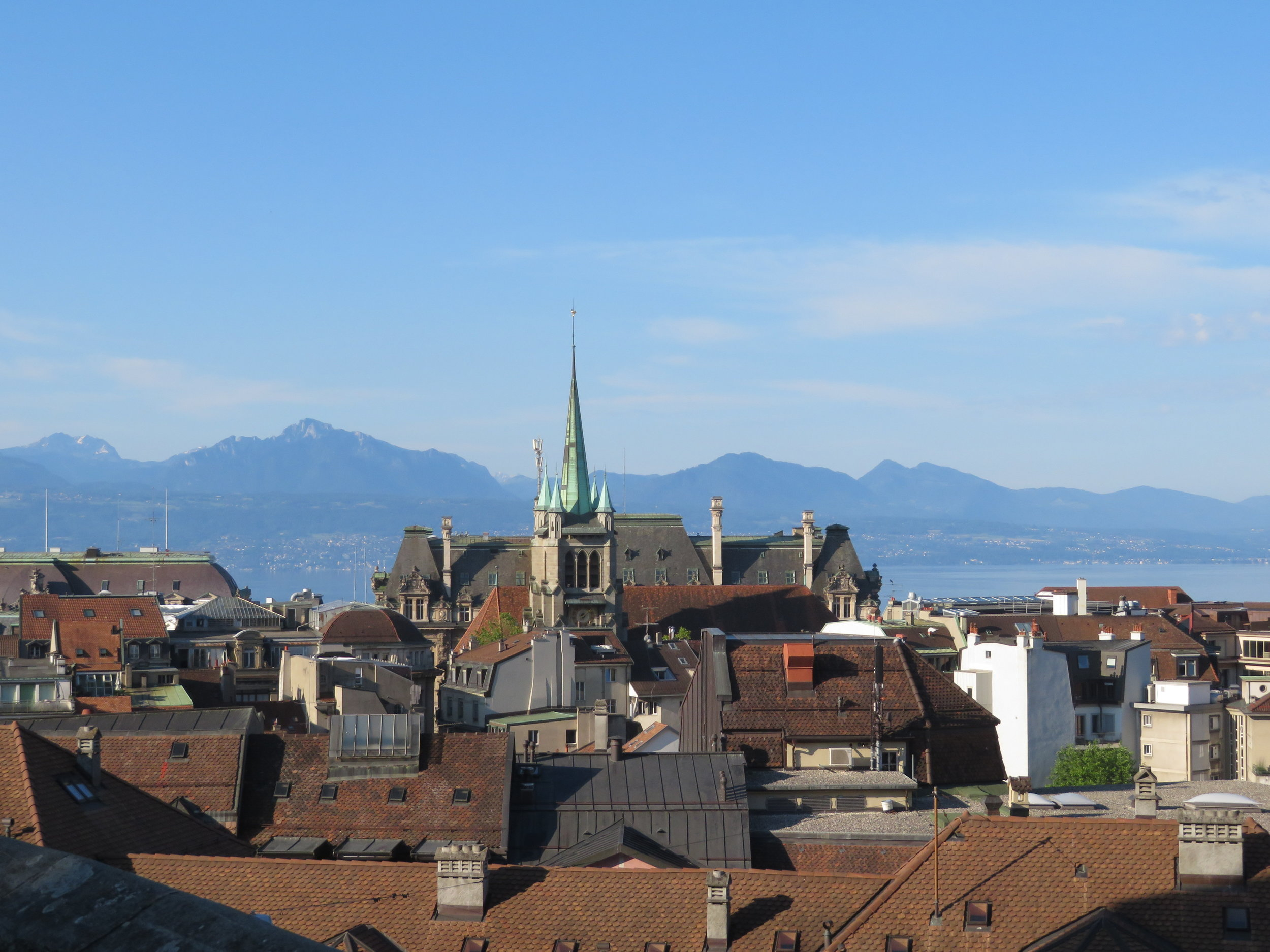 View of Lausanne