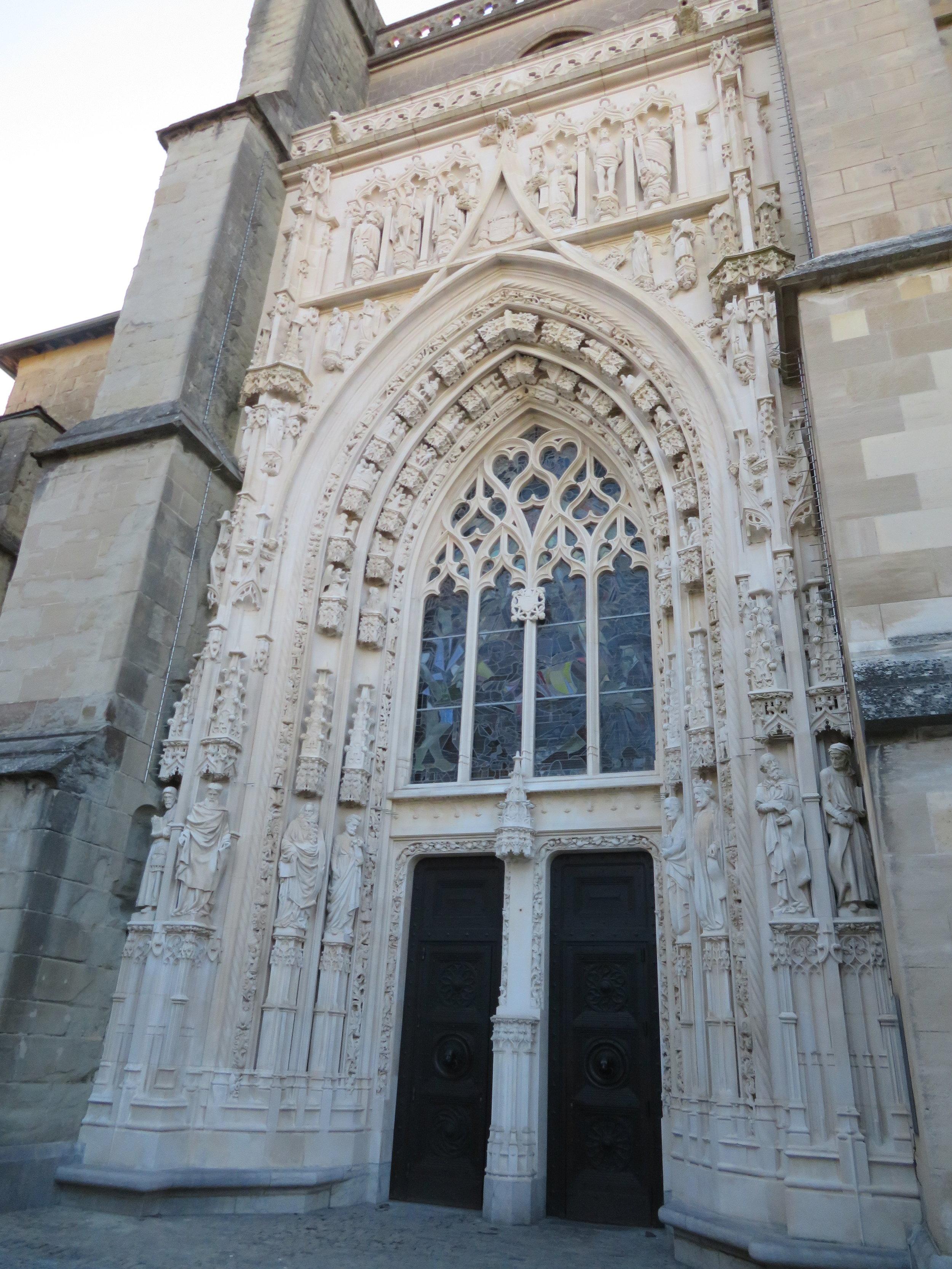 South entrance door