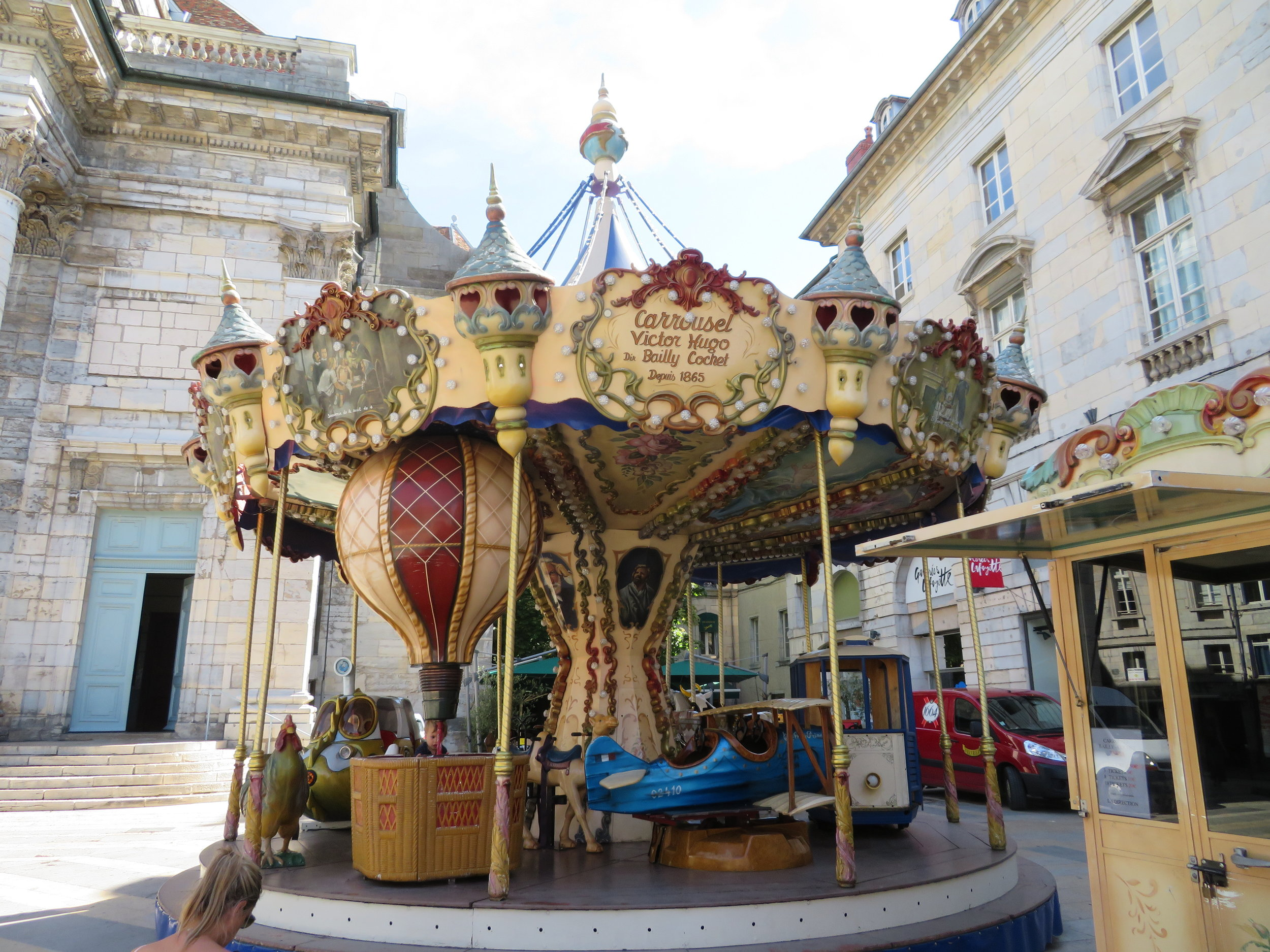 Vintage Bailley-Cochet carousel