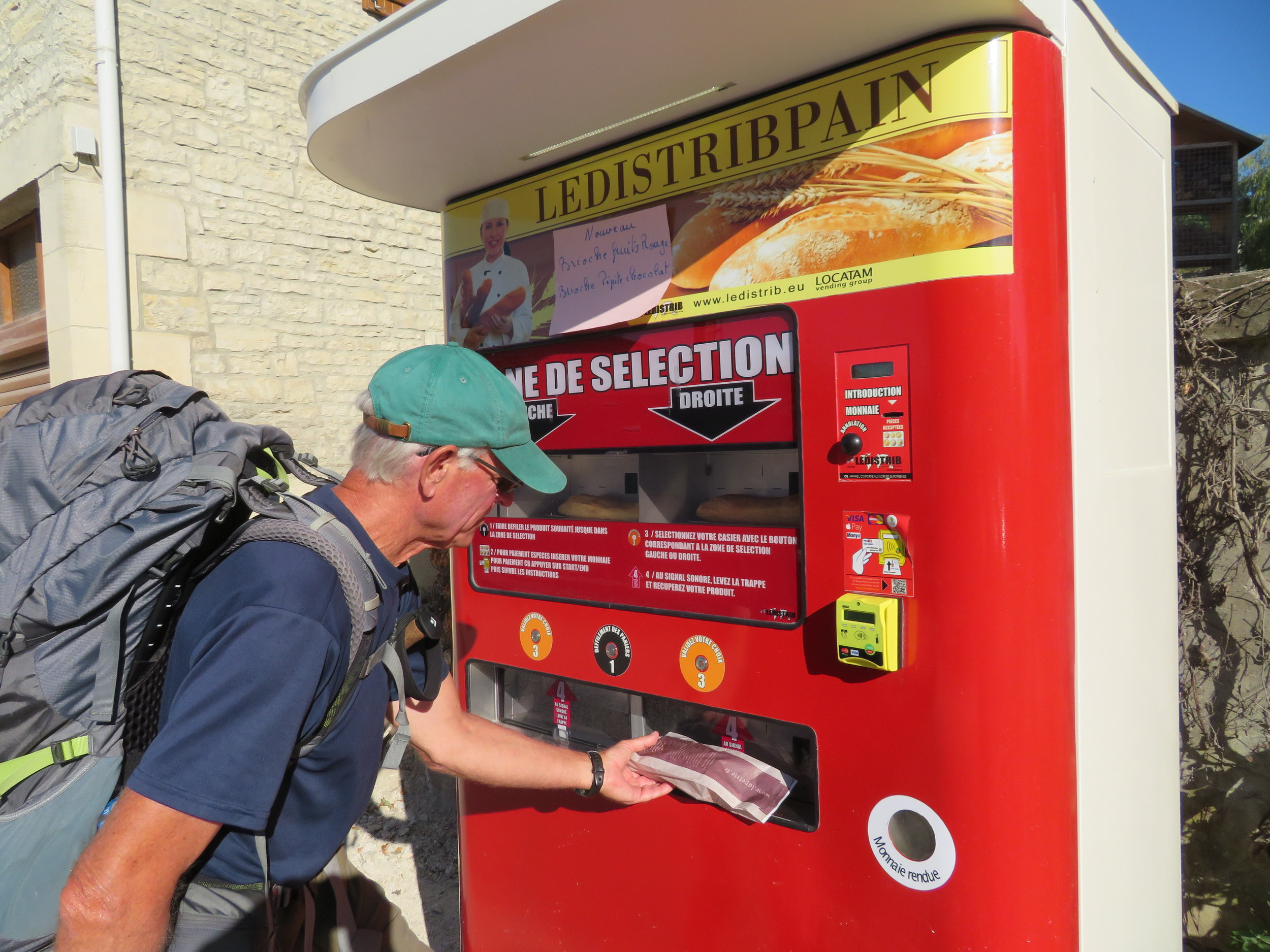 A vending machine for fresh baguettes?
