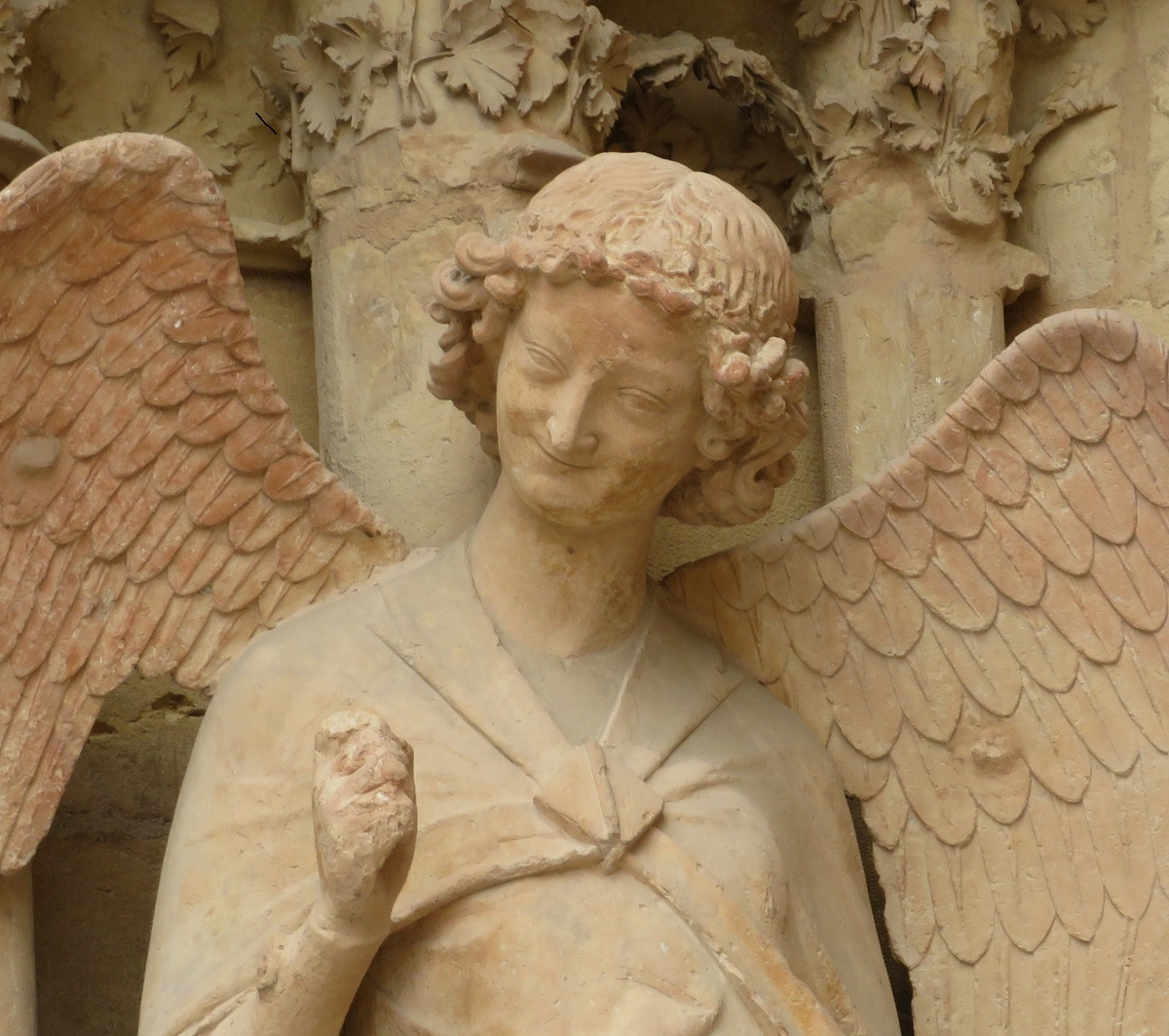 Reims' Smiling Angel