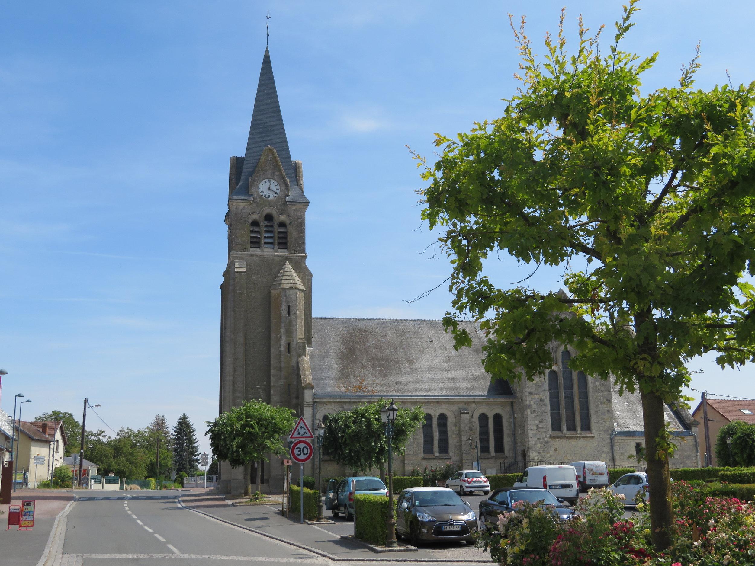 Église Saint-Marcoul de Corbeny