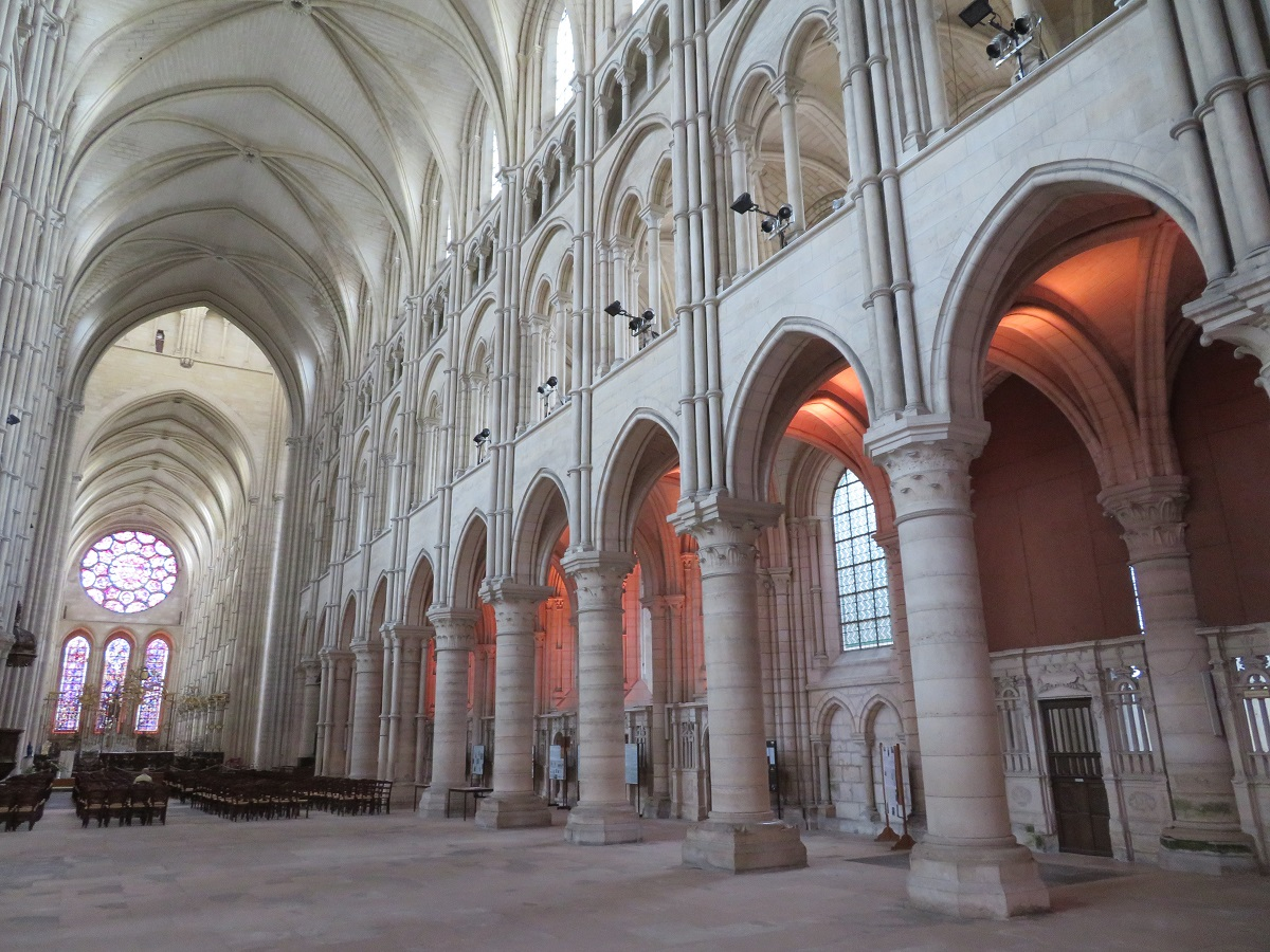 Inside Notre-Dame of Laon