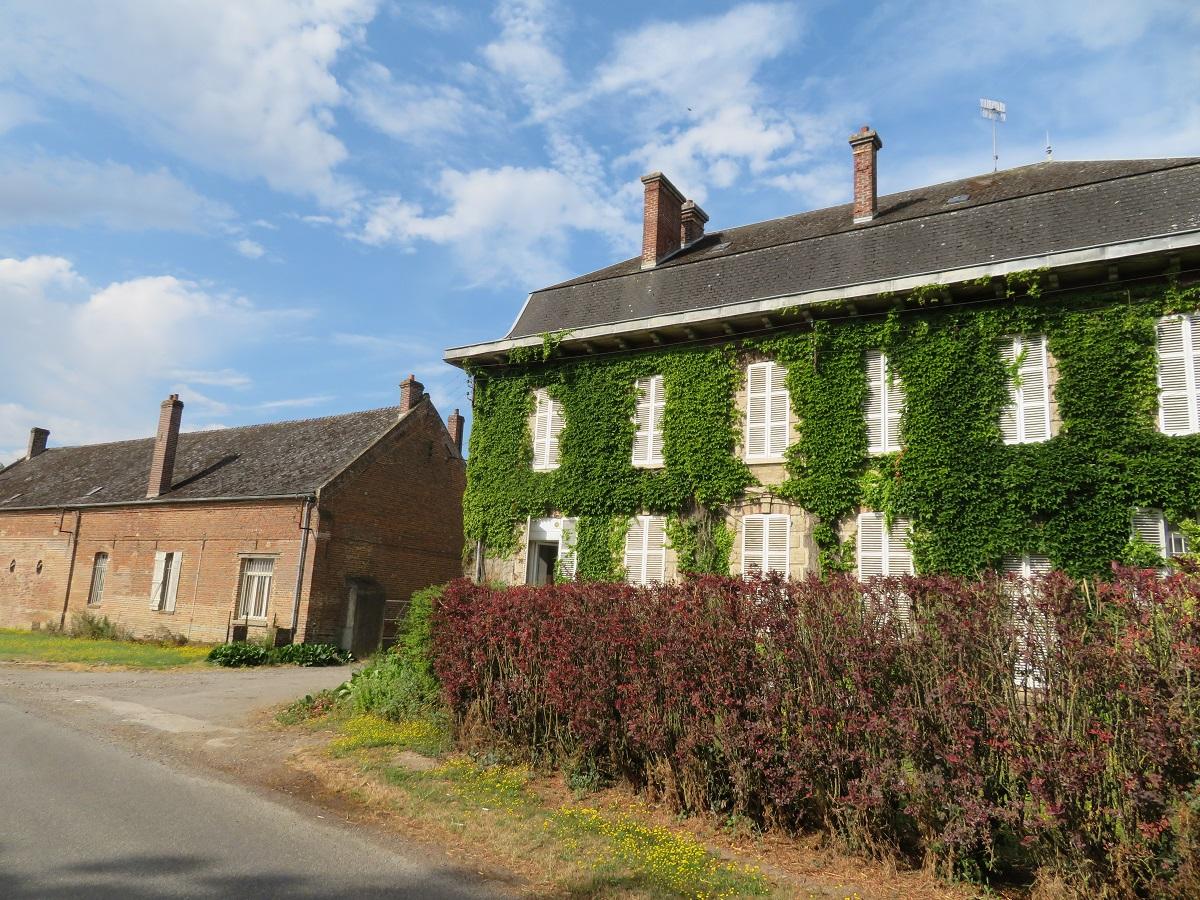 Luc's ancestral farm was pretty impressive.