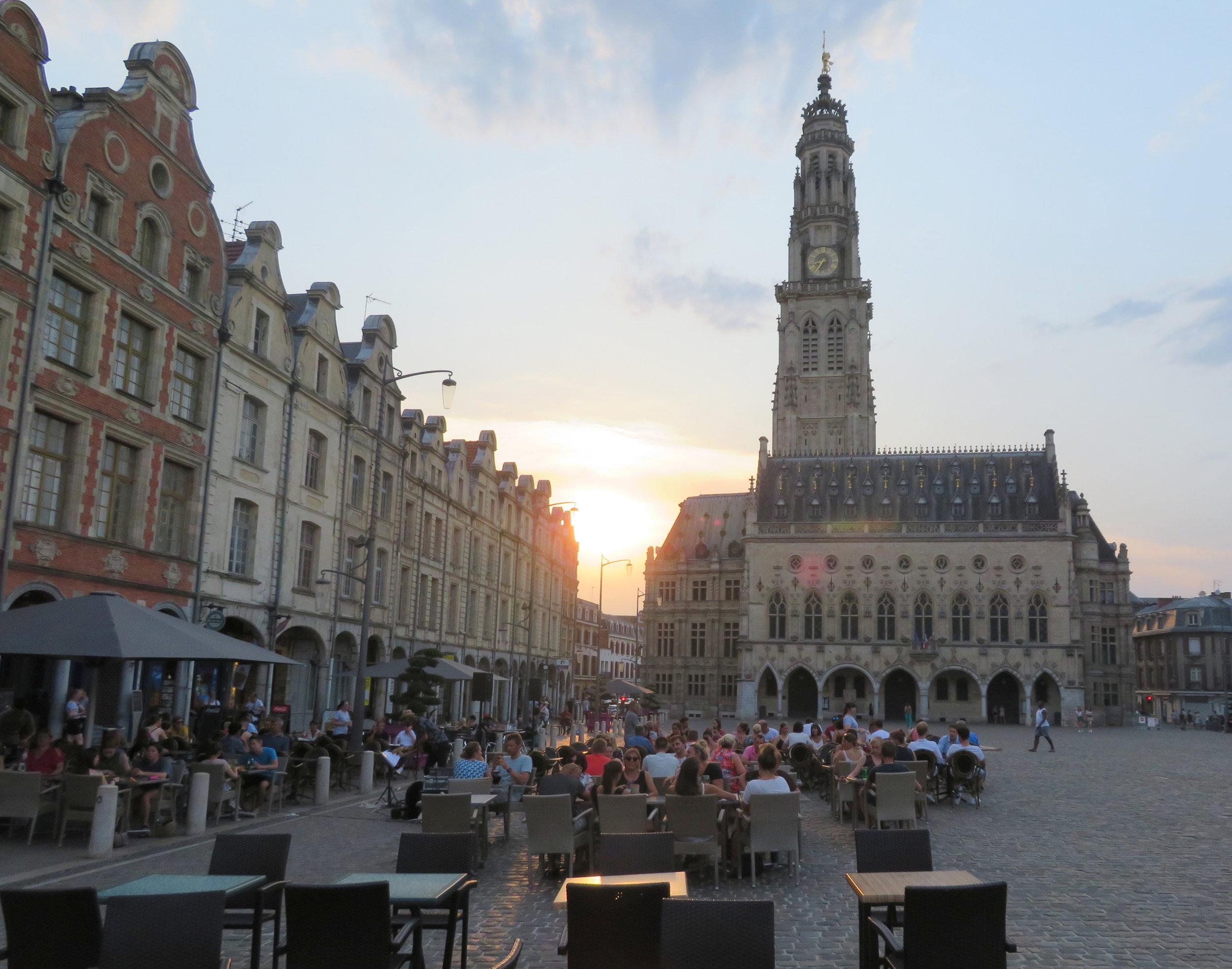 Place des Héros in Arras