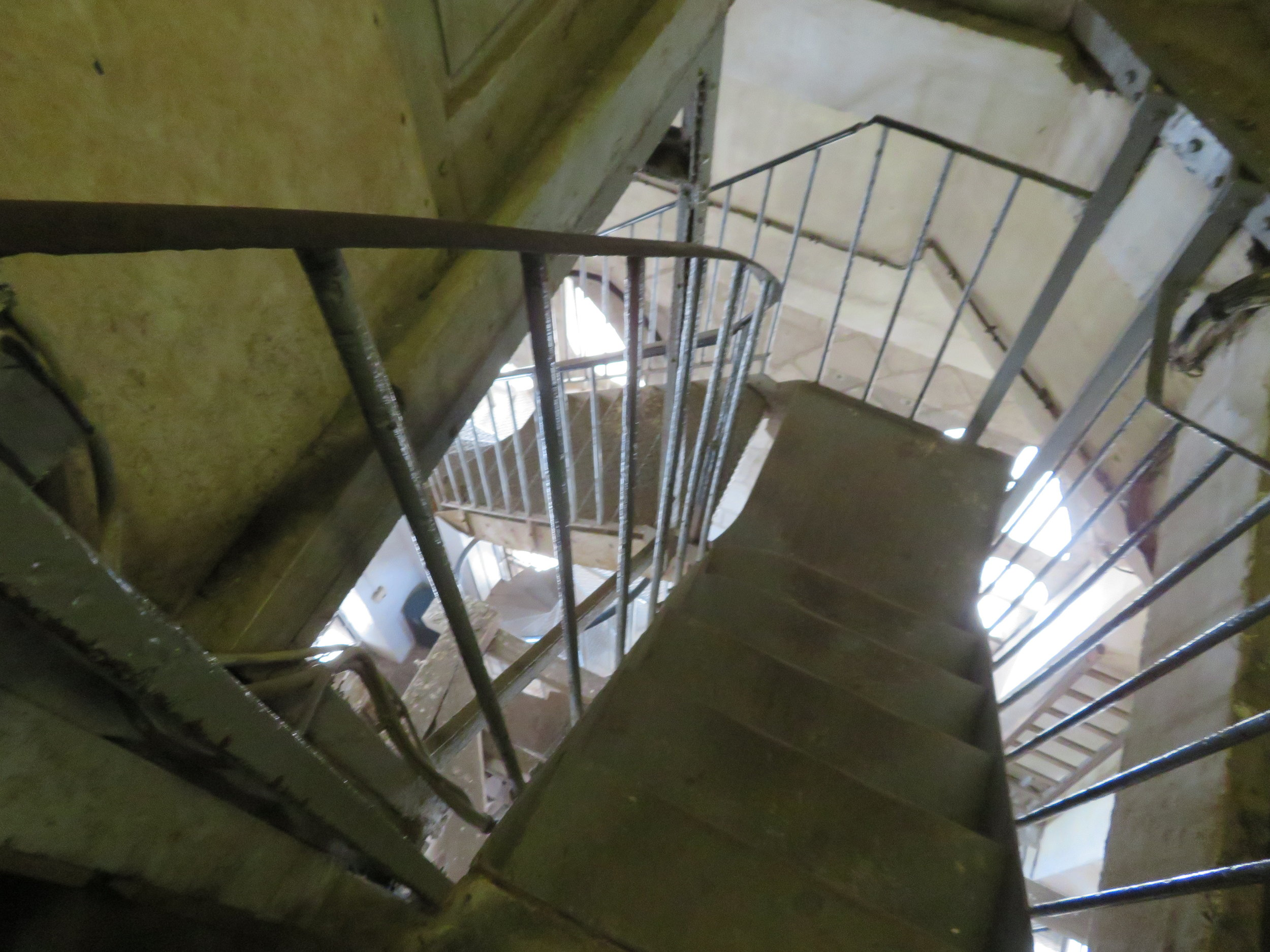 Belfry's spiral staircase