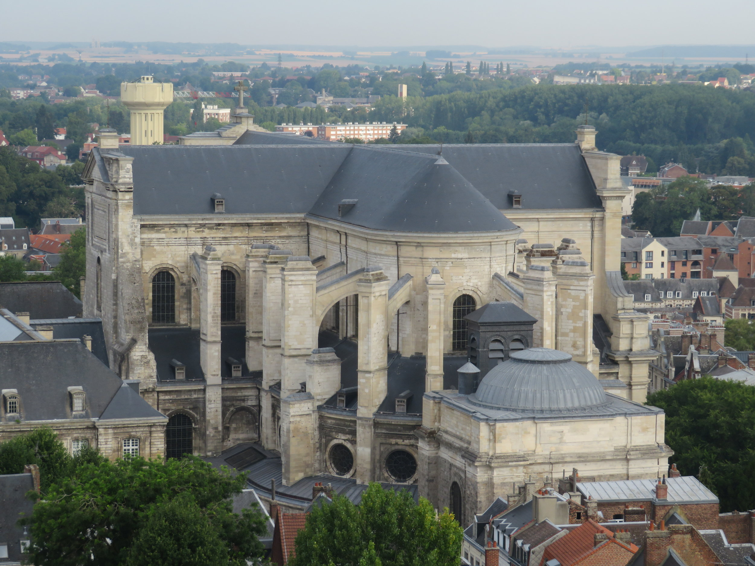 St. Vaast Cathedral view