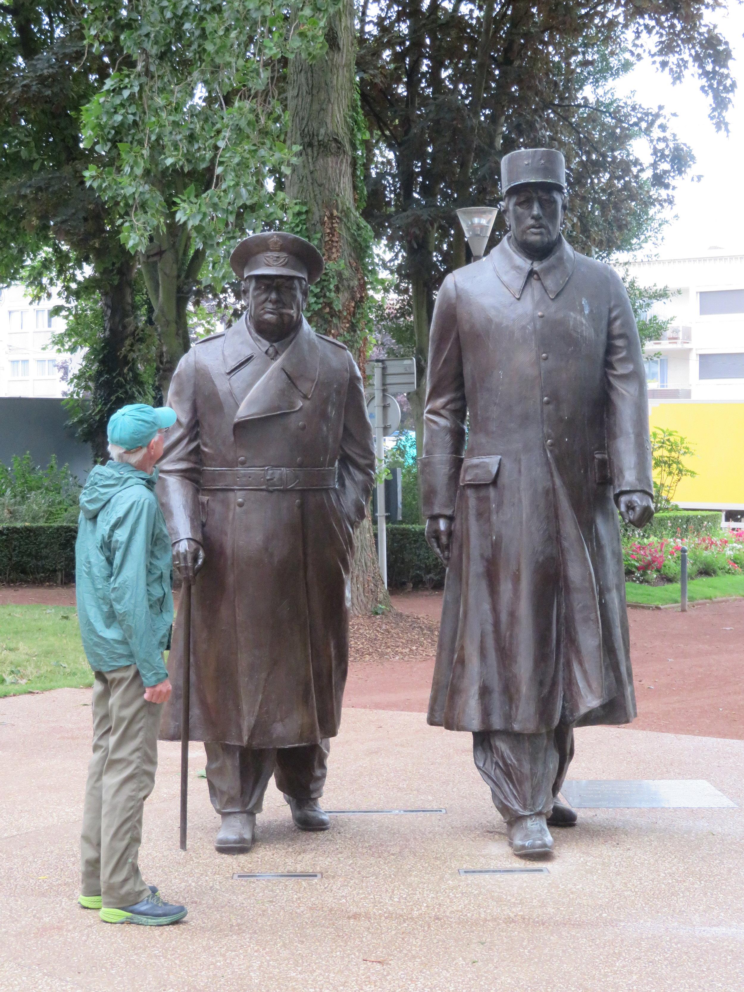DeGaulle, Churchill and Lynn