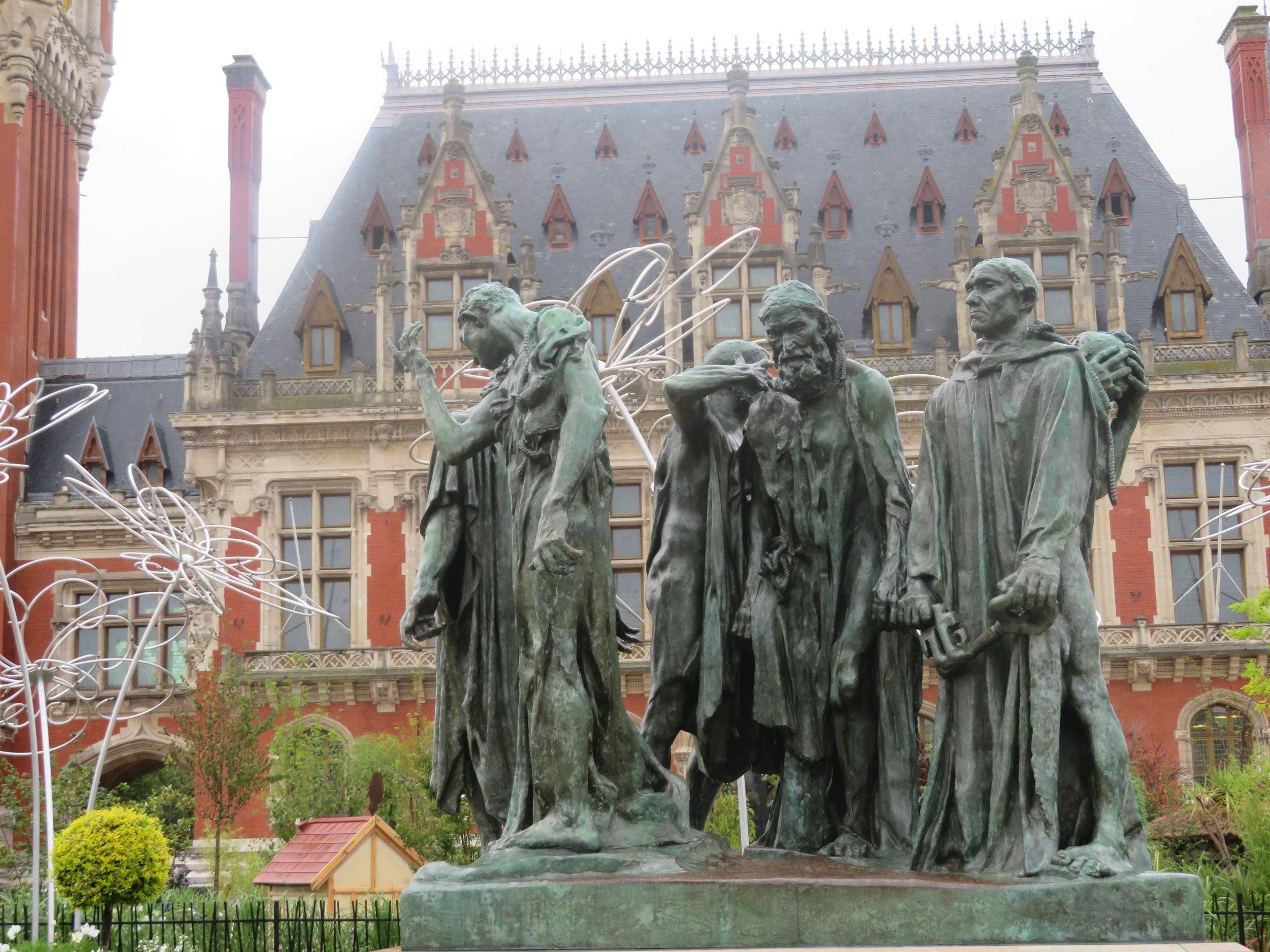 Les Bourgeois de Calais (The Burghers of Calais) by Auguste Rodin
