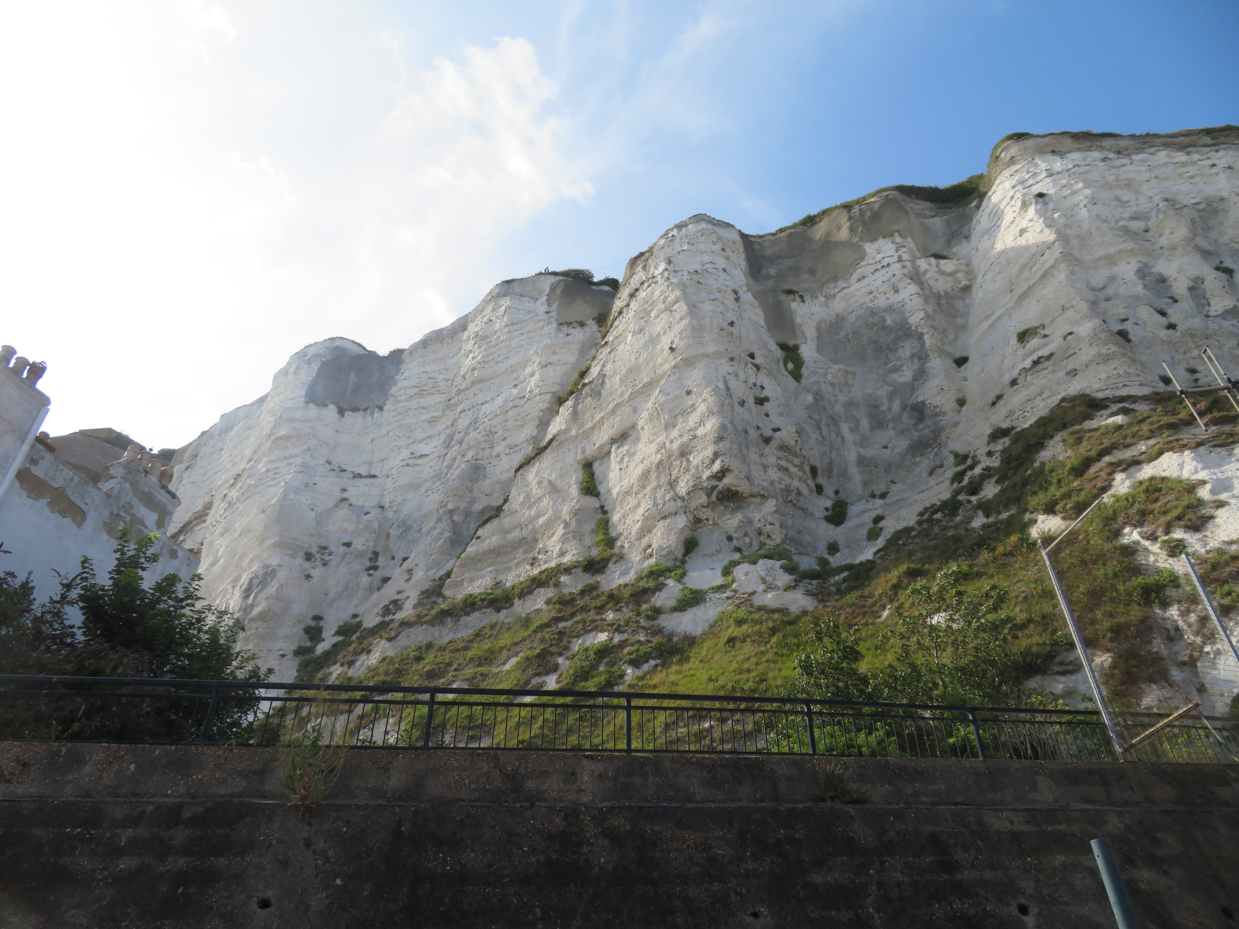 The White Cliffs of Dover are stunningly white!