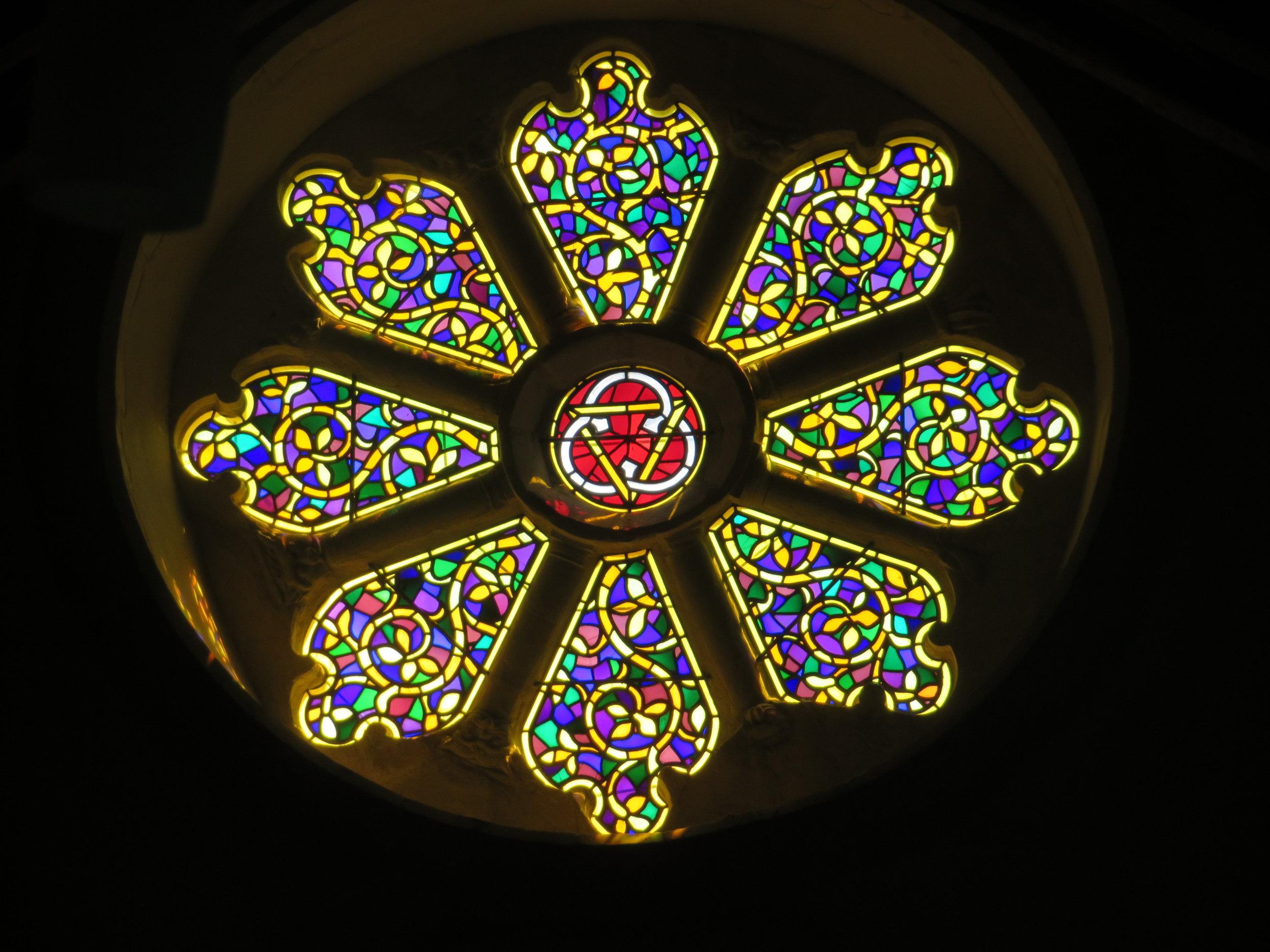 St Mary's Wheel Window