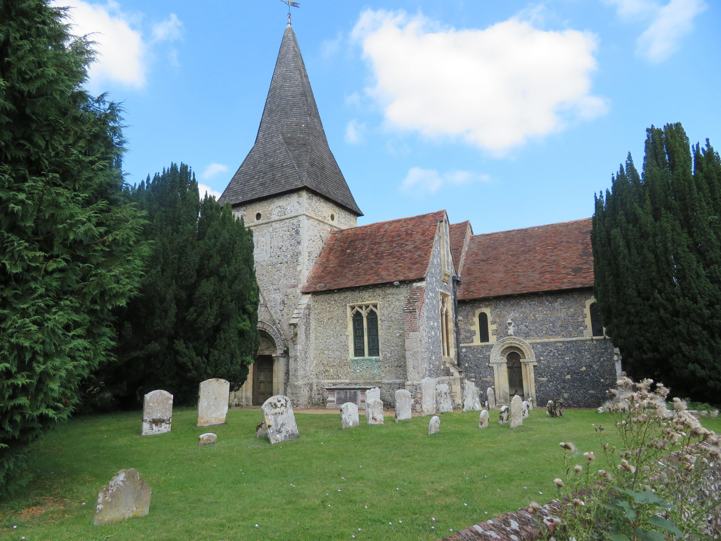 St Mary's Church, Patrixbourne