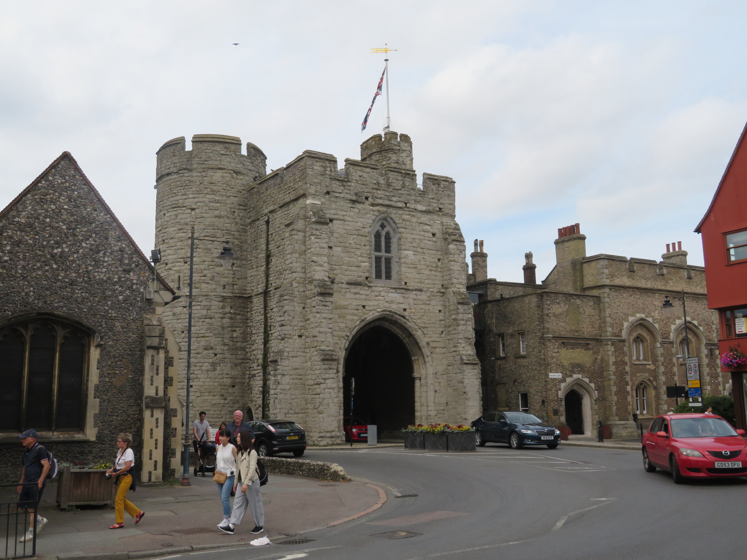 Westgate … medieval portal to the city
