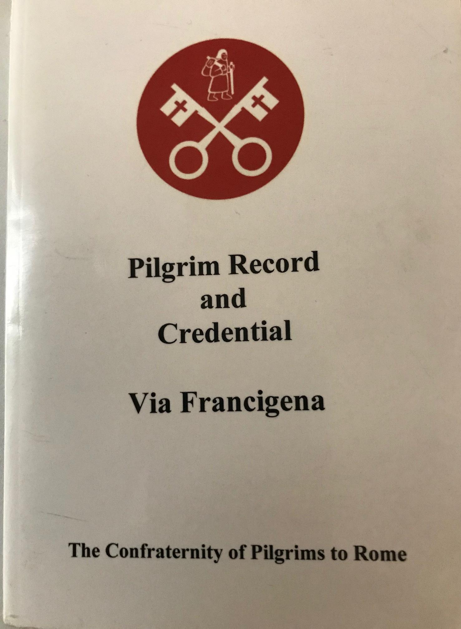 One of our Pilgrim Passports