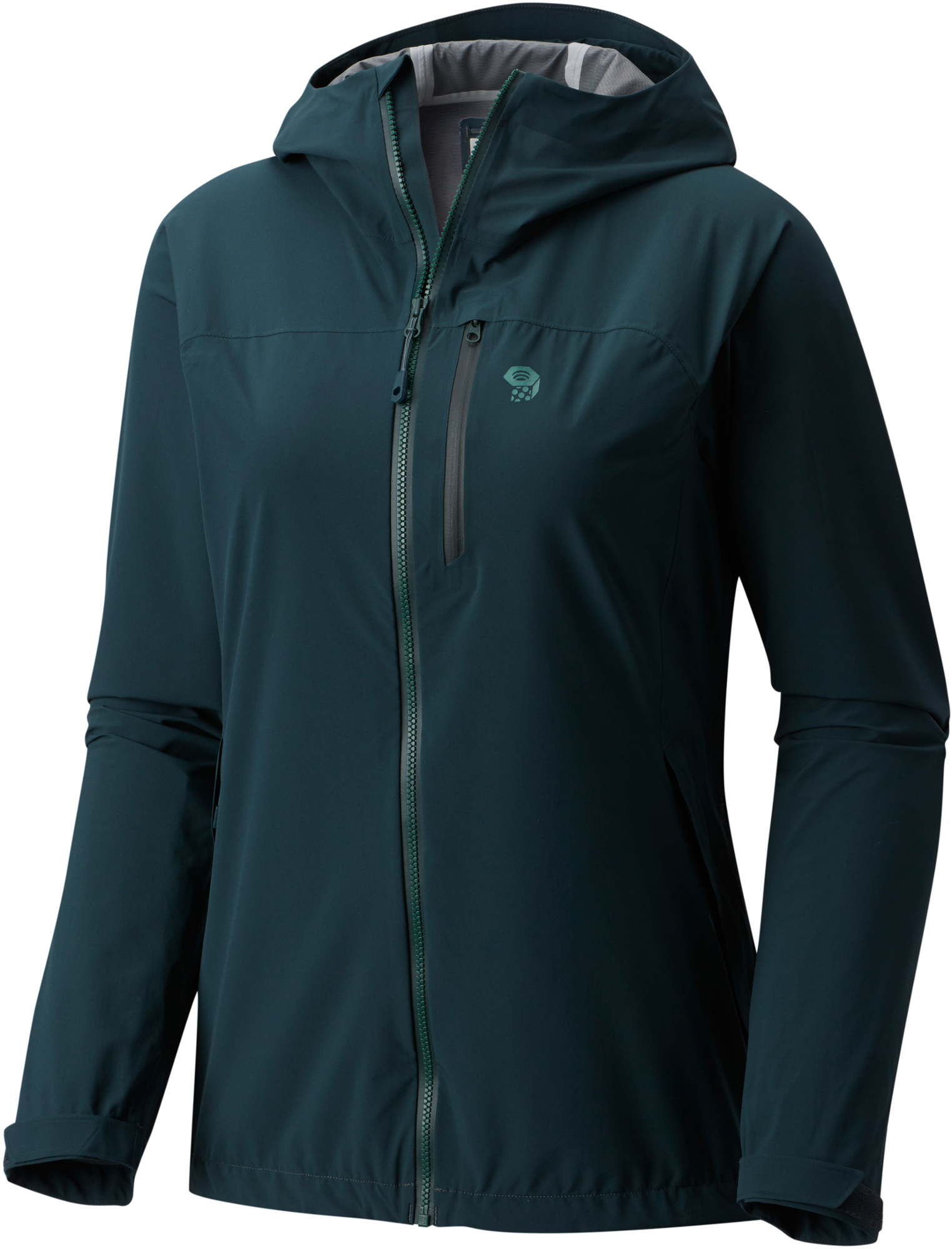 Nice looking, but the zippers on Marcie's rain jacket kept getting caught