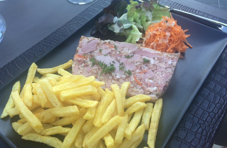 We weren't always sure what we were eating in France