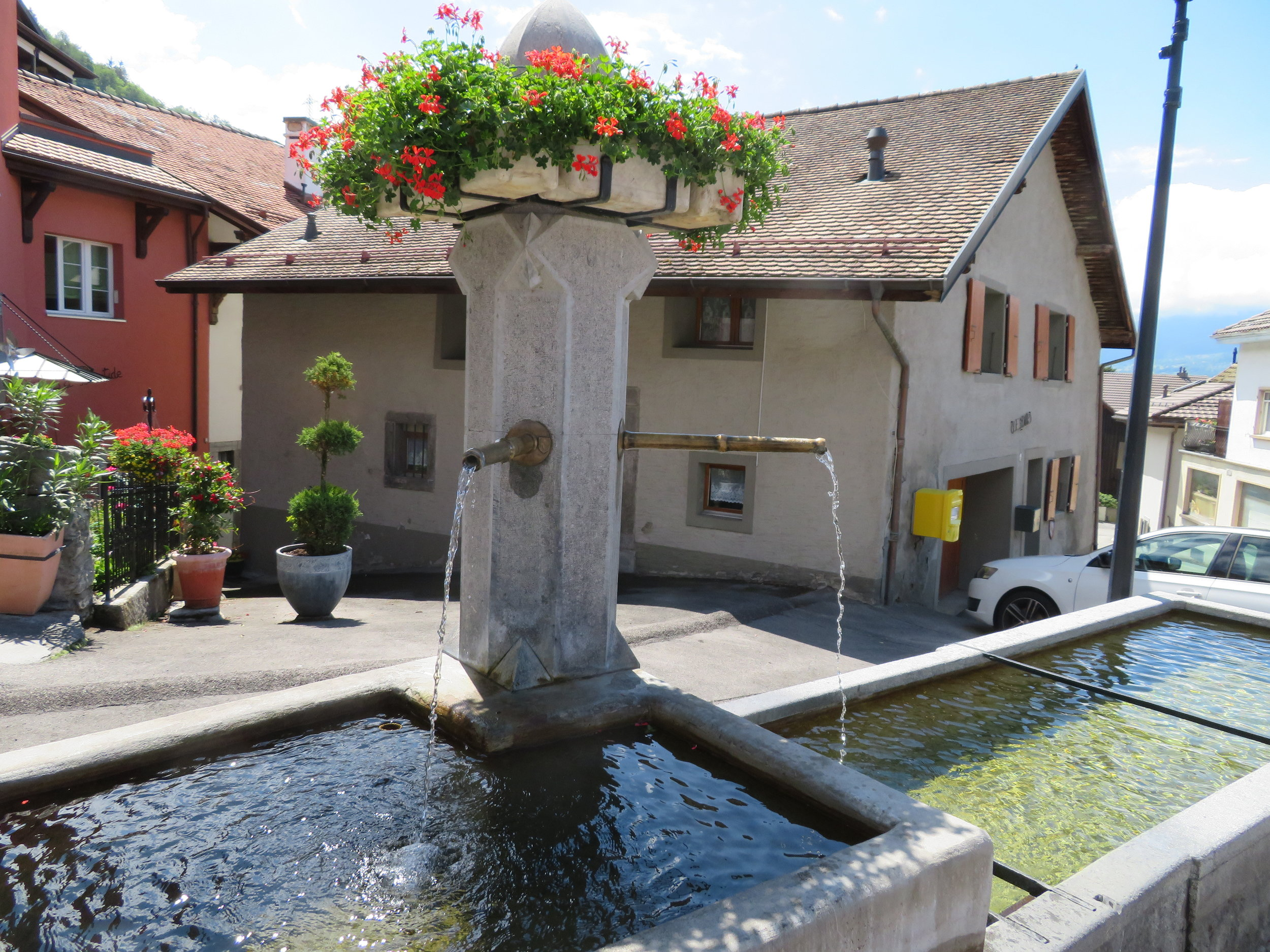 A Swiss fountain… also cool, pleasant tasting water
